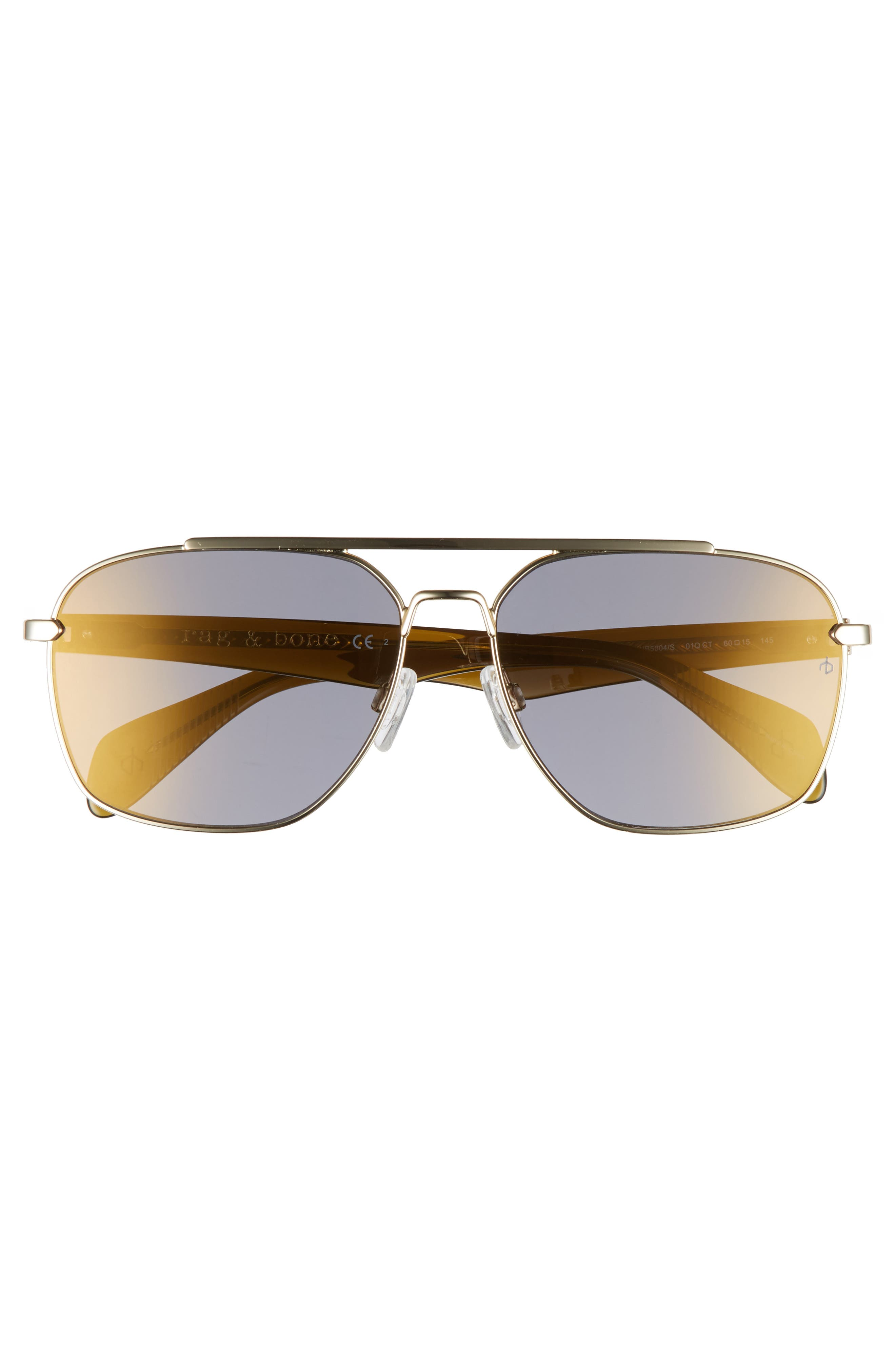 Alternate Image 2  - rag & bone 60mm Navigator Sunglasses