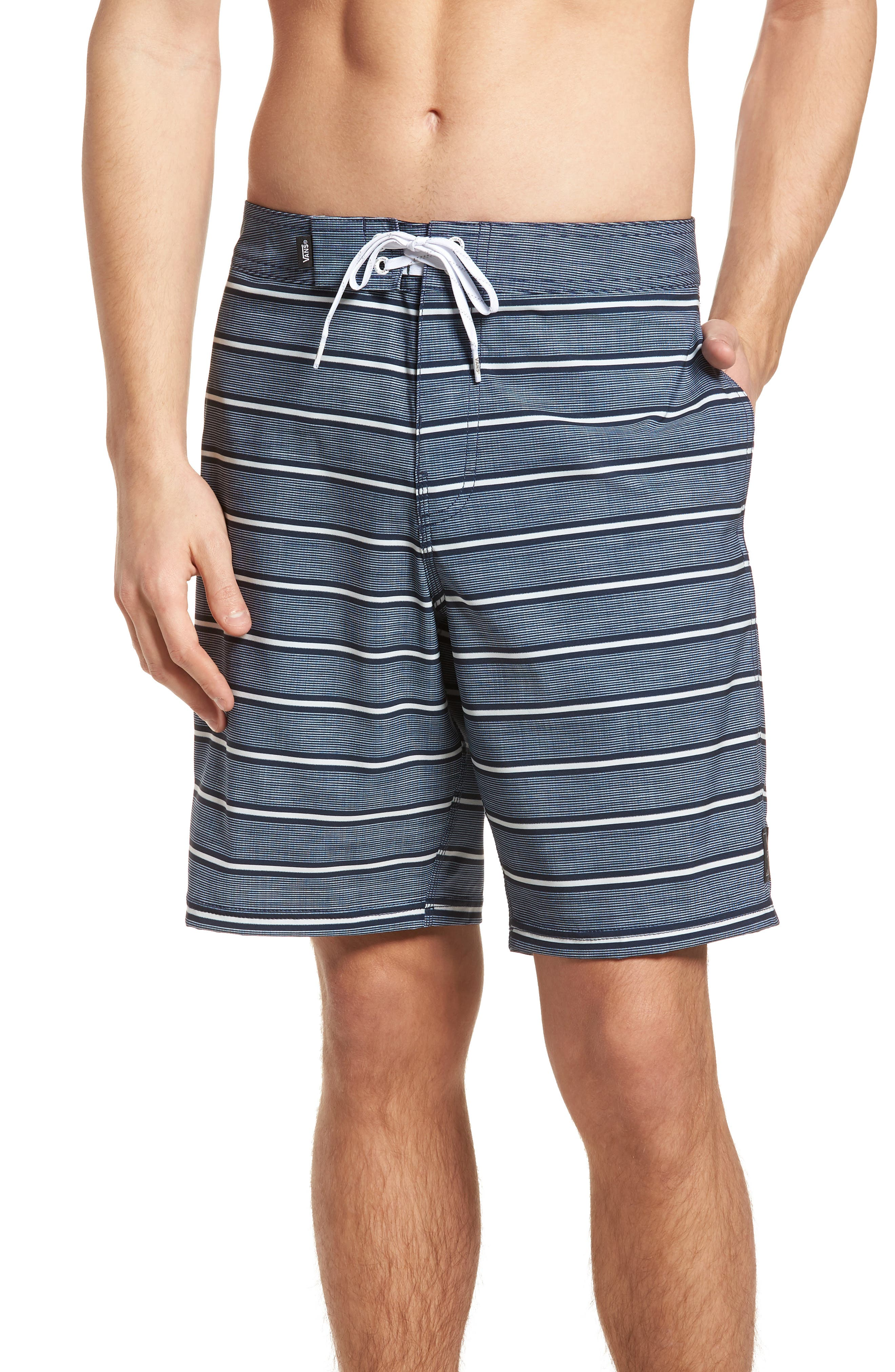 Rooftop Board Shorts,                         Main,                         color, Dress Blues