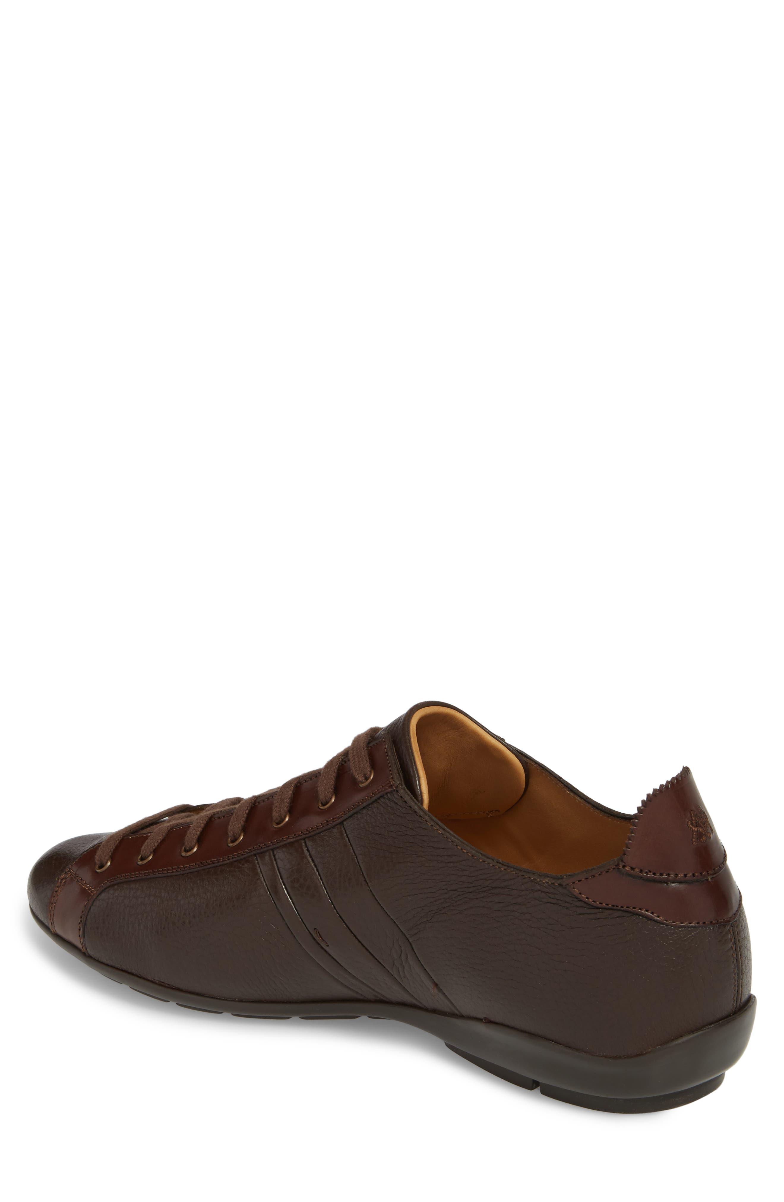 Tiberio Sneaker,                             Alternate thumbnail 2, color,                             Brown