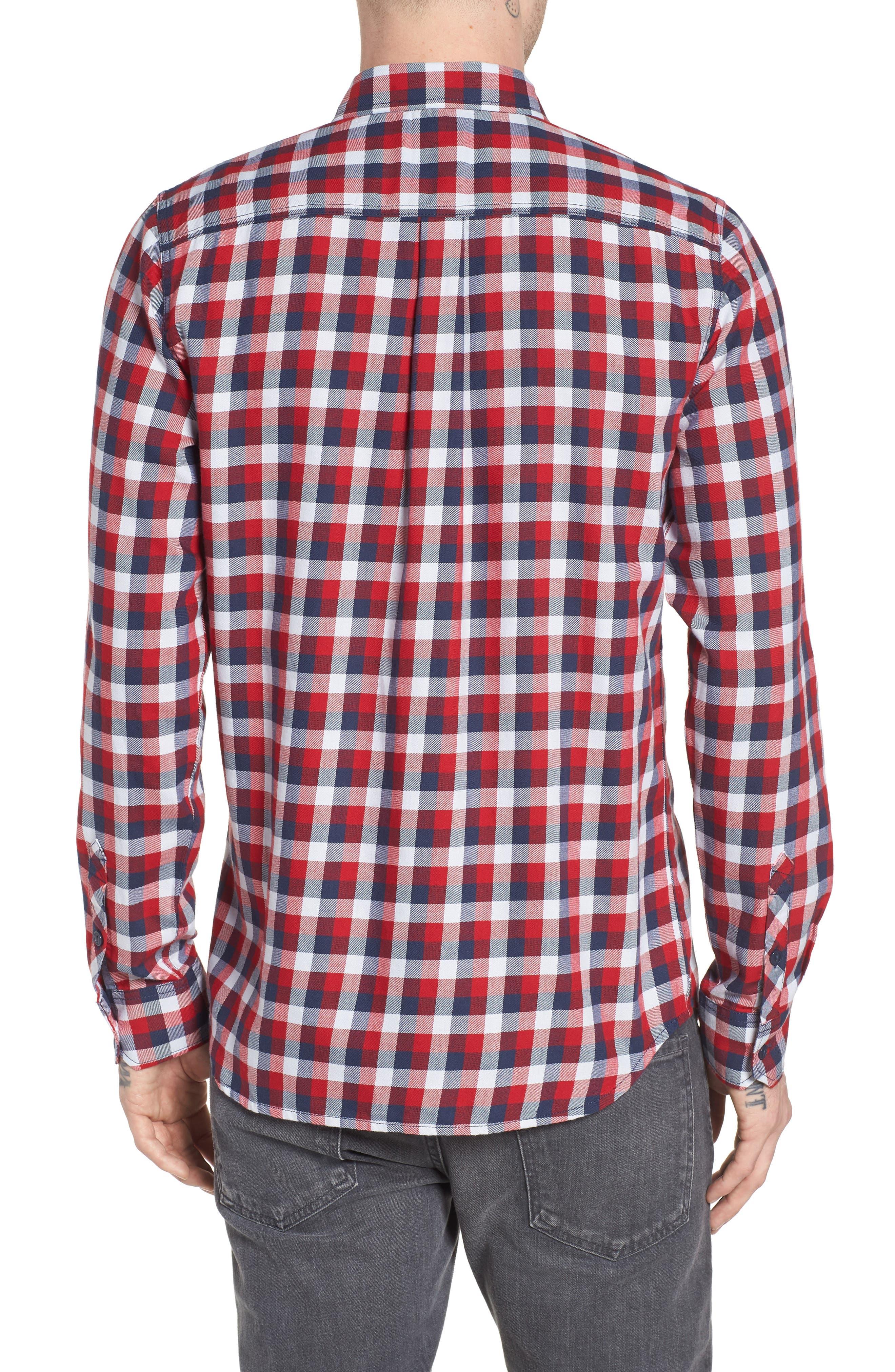 Alternate Image 2  - Vans Alameda II Plaid Flannel Shirt