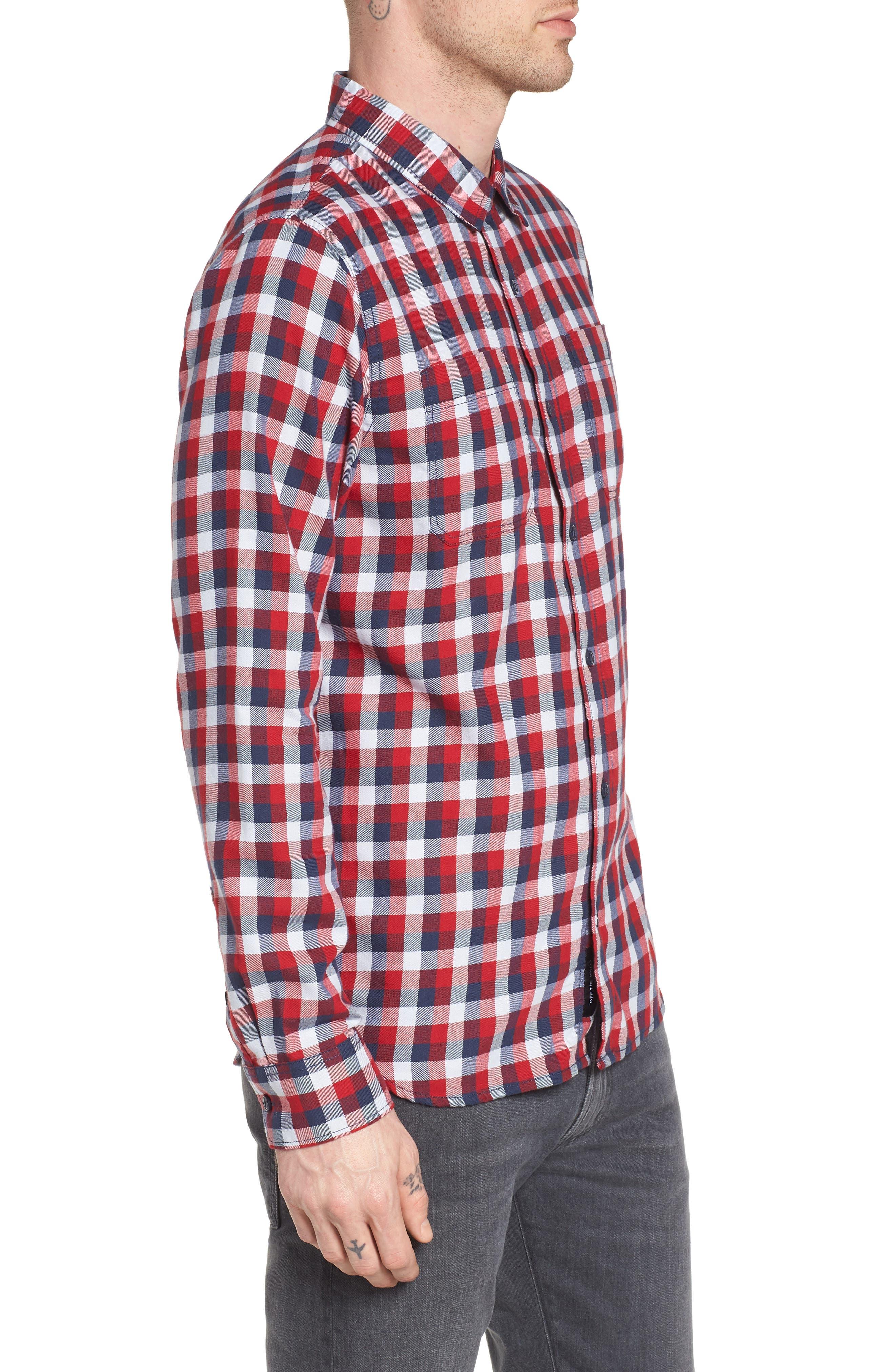 Alternate Image 3  - Vans Alameda II Plaid Flannel Shirt
