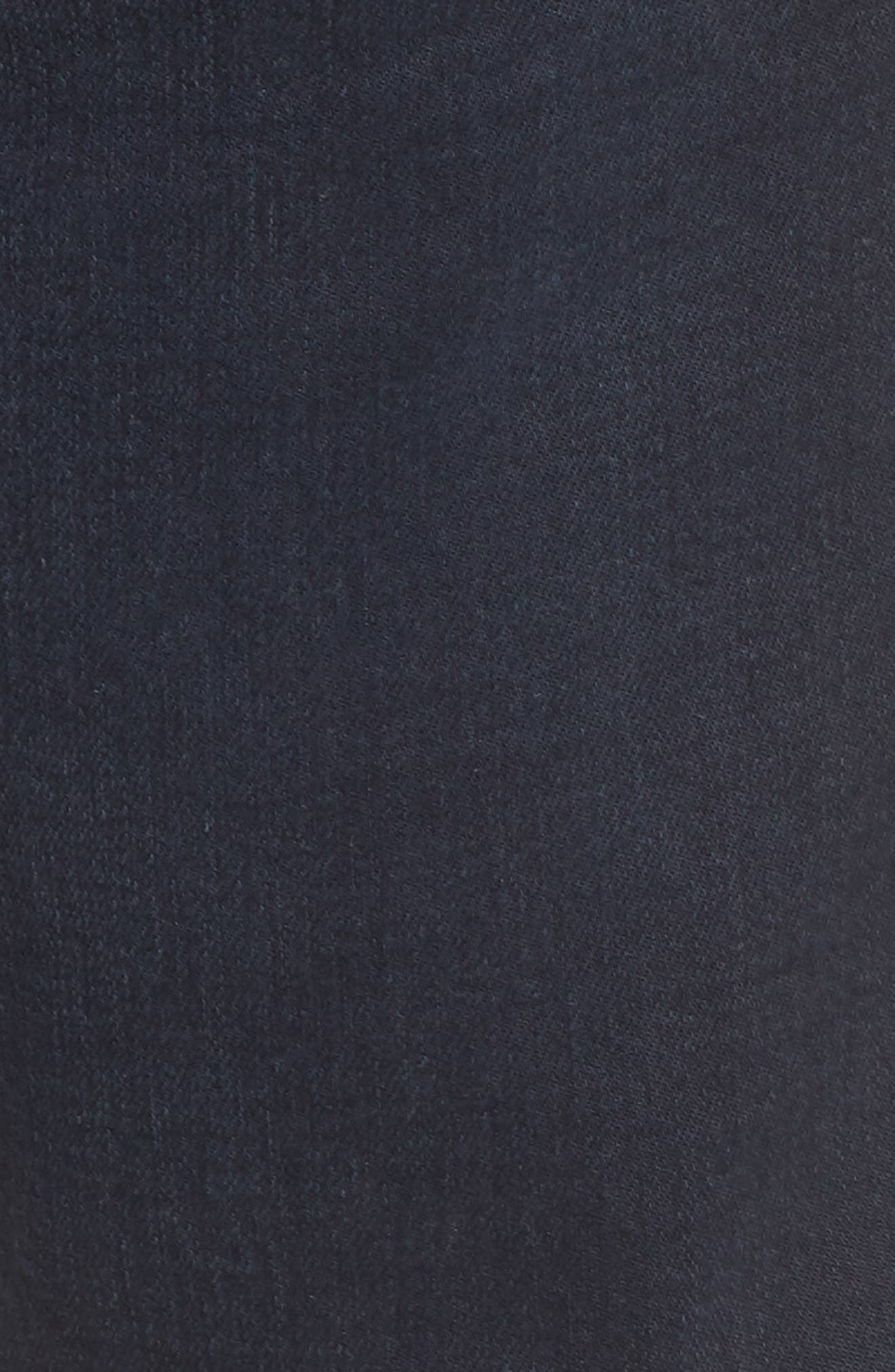 Iggy Skinny Fit Jeans,                             Alternate thumbnail 5, color,                             Blue Lines Broken