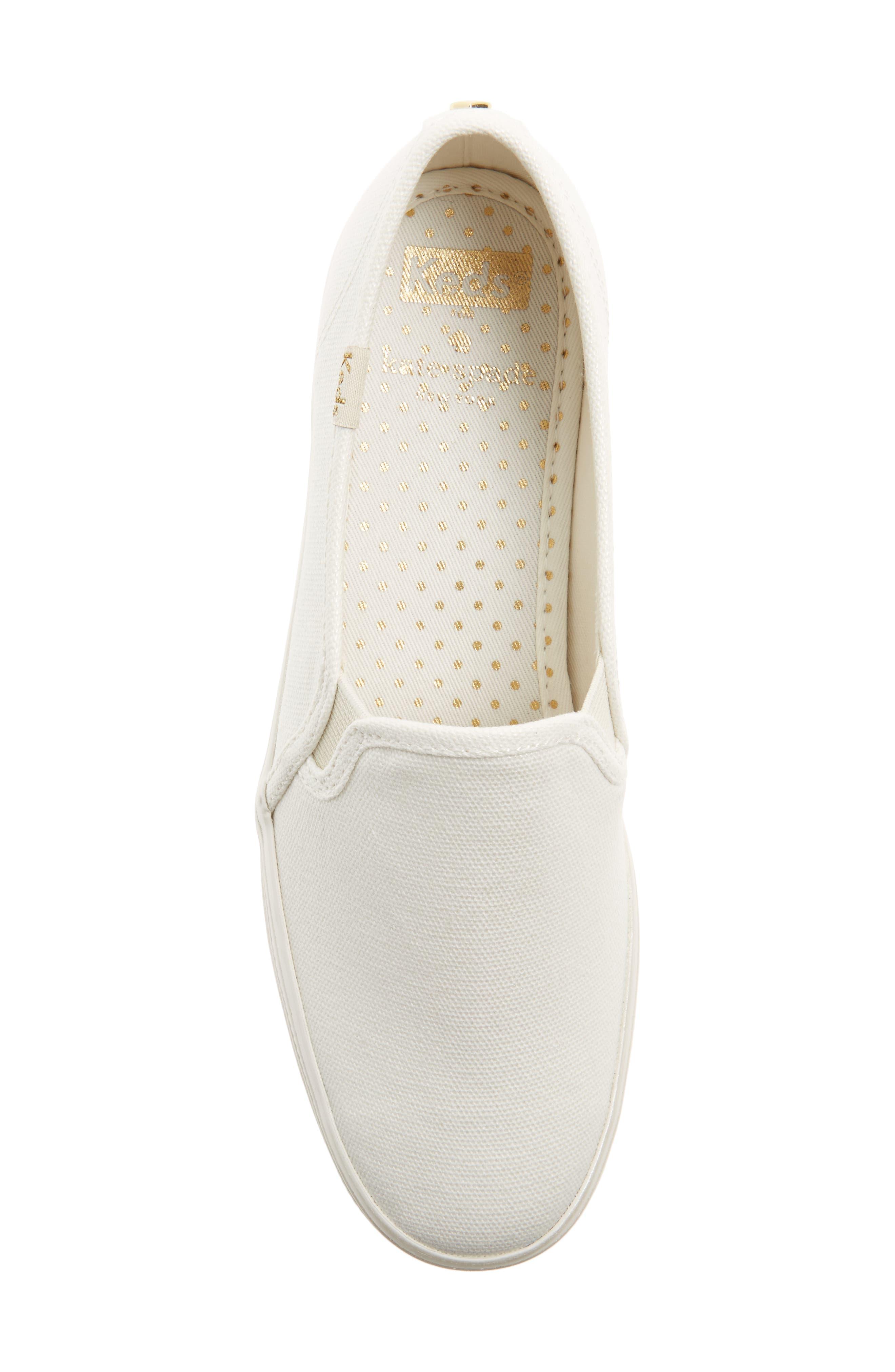 Alternate Image 5  - Keds® for kate spade new york triple decker slip-on platform sneaker (Women)