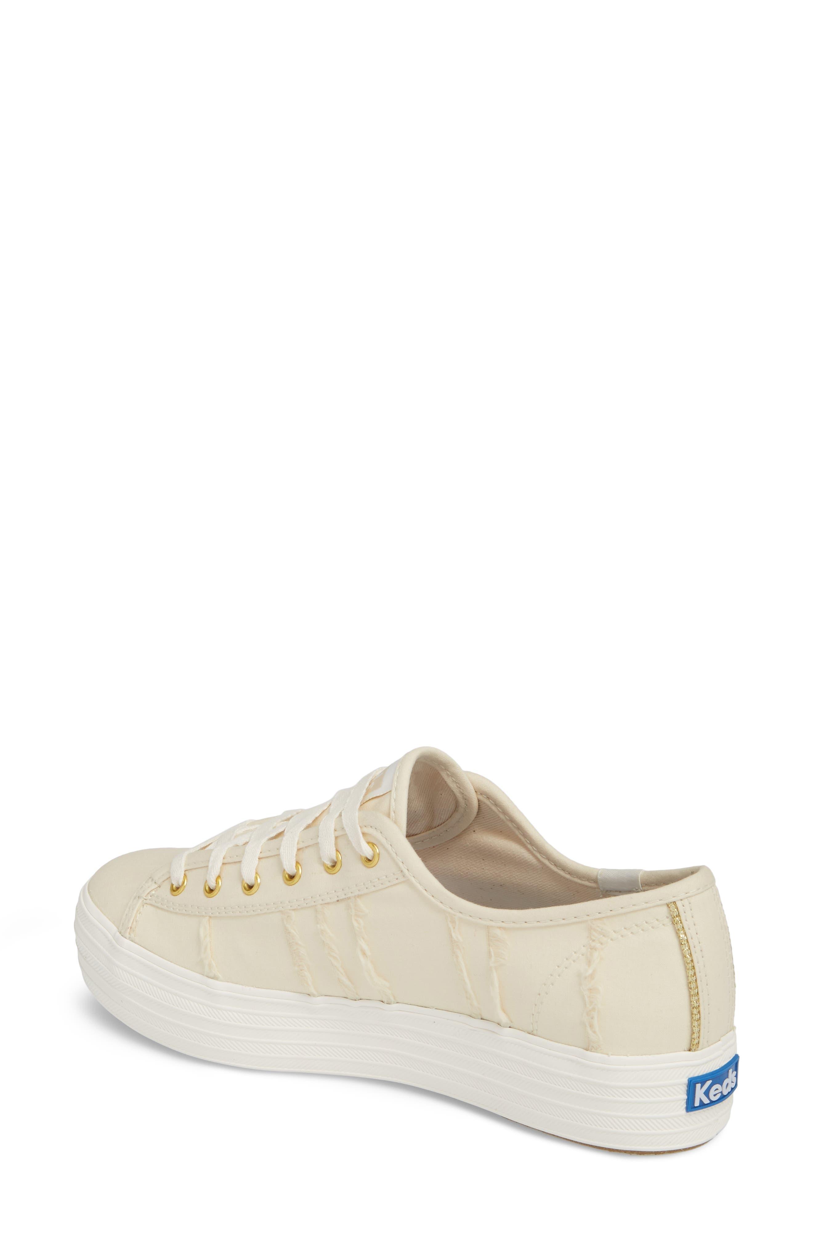Triple Kick Canvas Sneaker,                             Alternate thumbnail 2, color,                             Cream