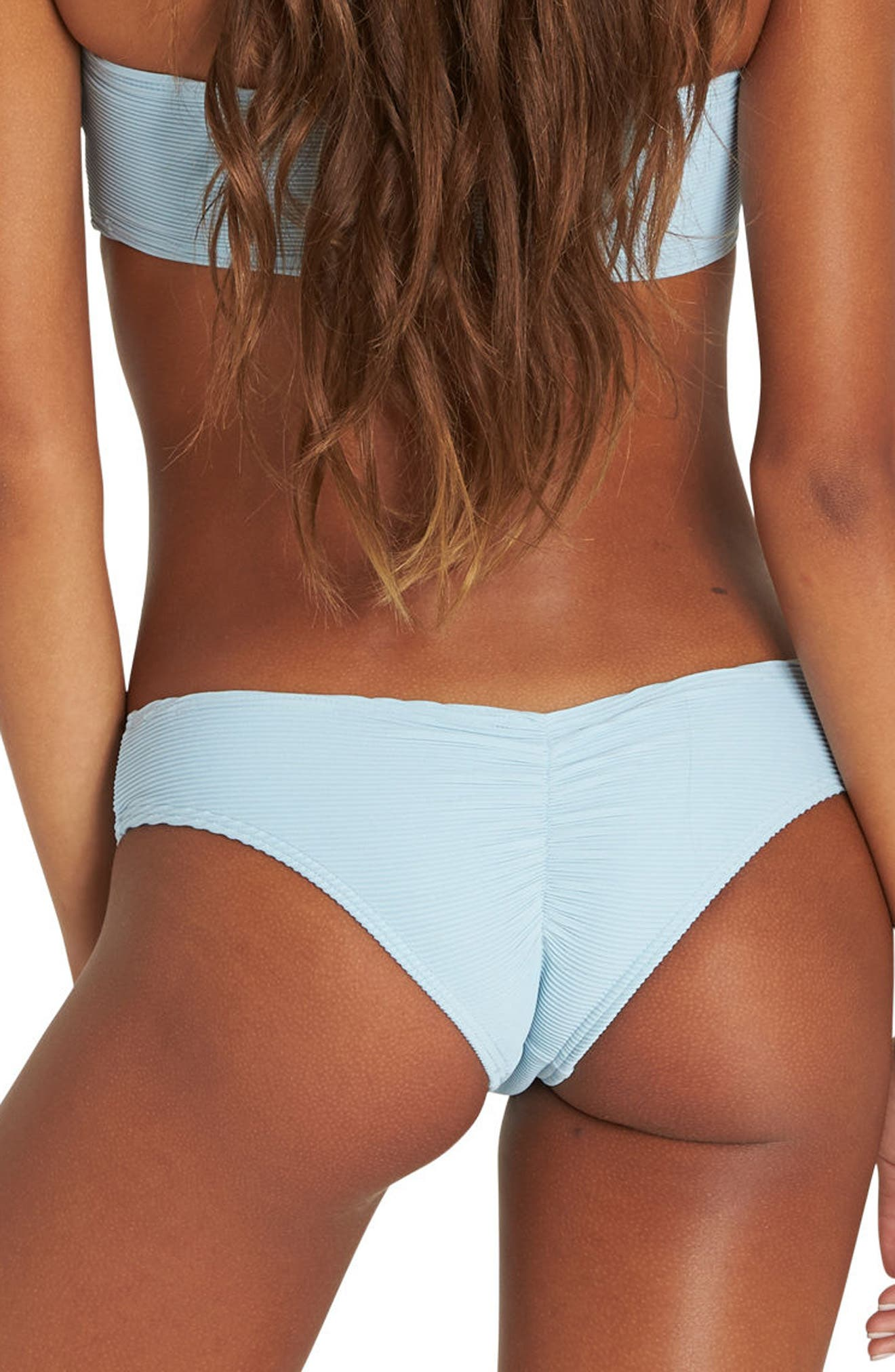 Tanlines Hawaii Bikini Bottoms,                             Alternate thumbnail 2, color,                             Cool Water