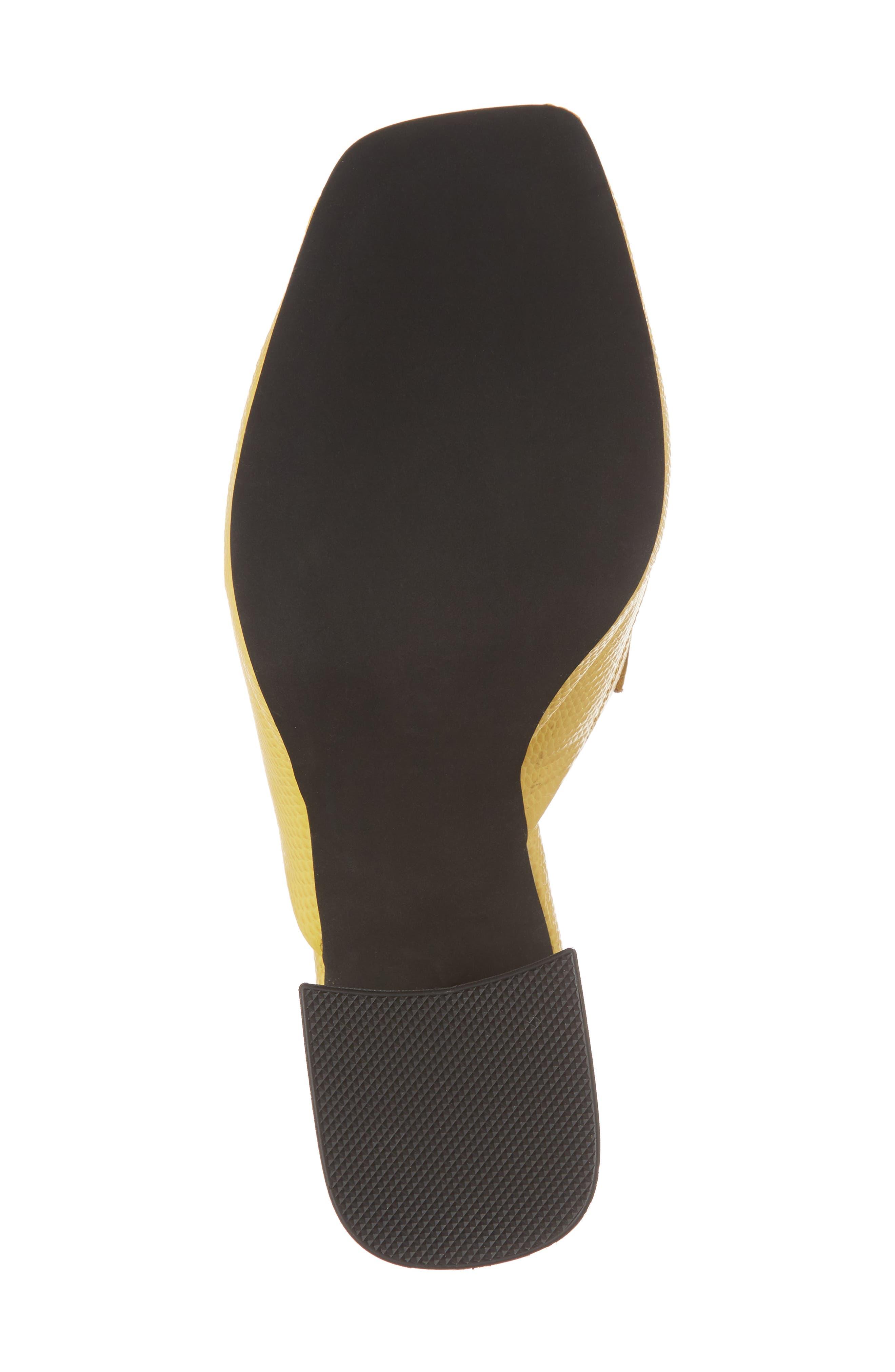 Suzuci Sandal,                             Alternate thumbnail 6, color,                             Yellow Leather