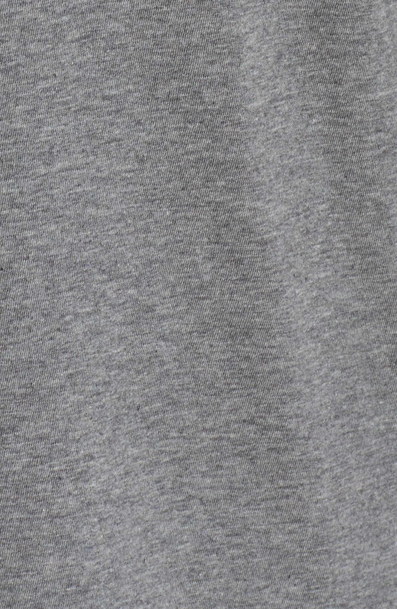 Rosé Okay Sweatshirt,                             Alternate thumbnail 6, color,                             Heather Grey