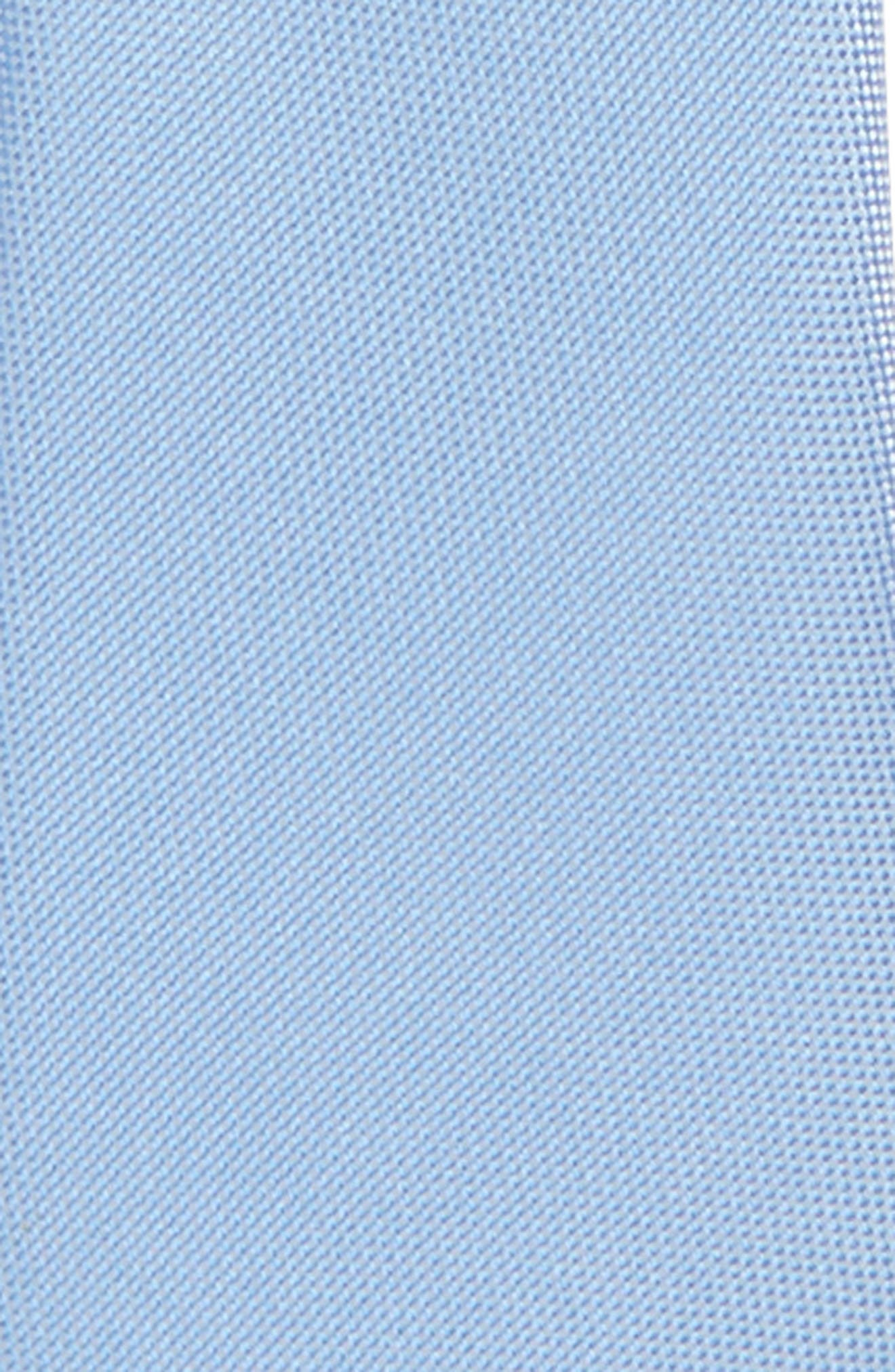 Natte Silk Zip Tie,                             Alternate thumbnail 2, color,                             Light Blue