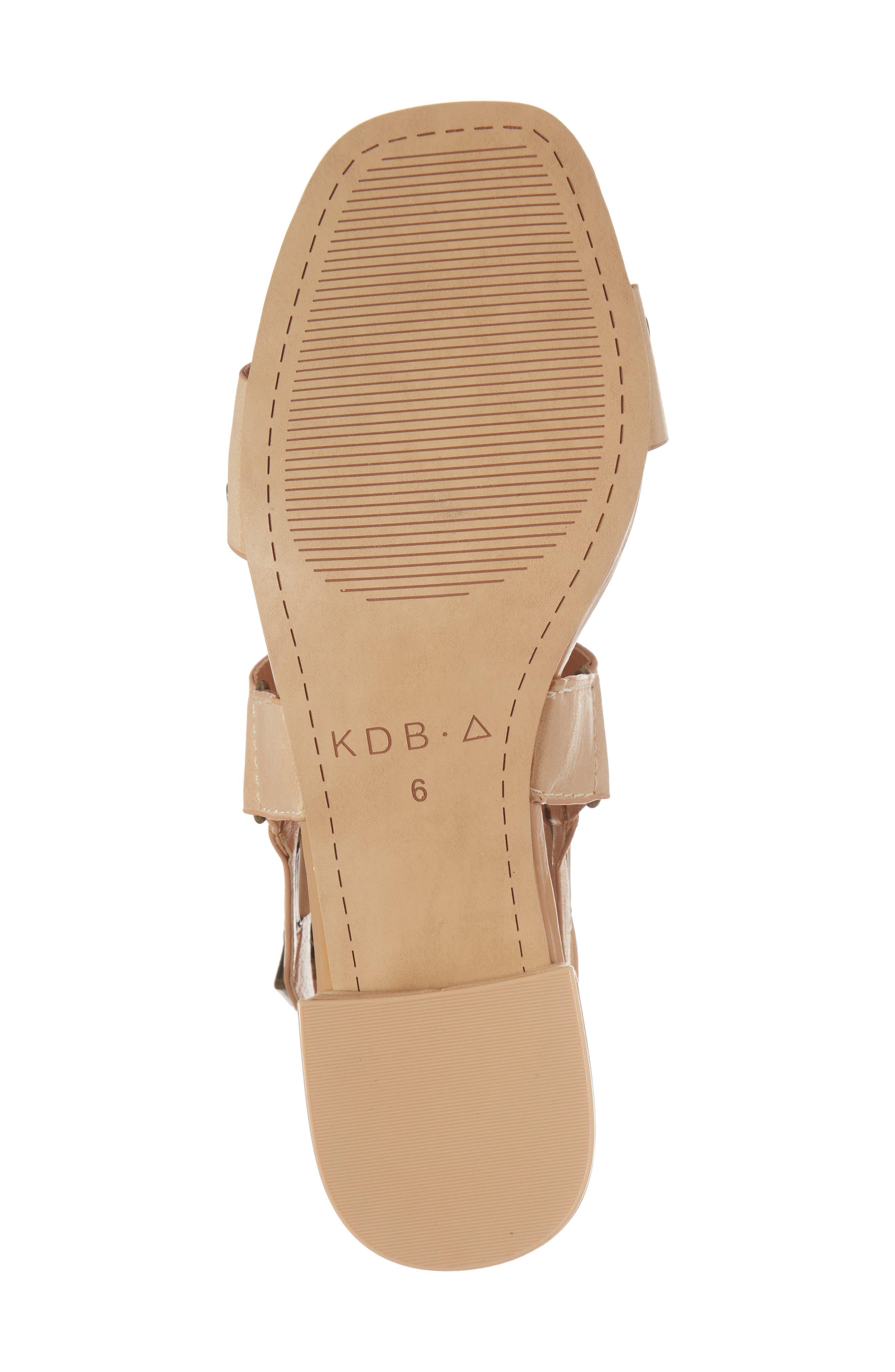 Seabring City Sandal,                             Alternate thumbnail 6, color,                             Tan Leather