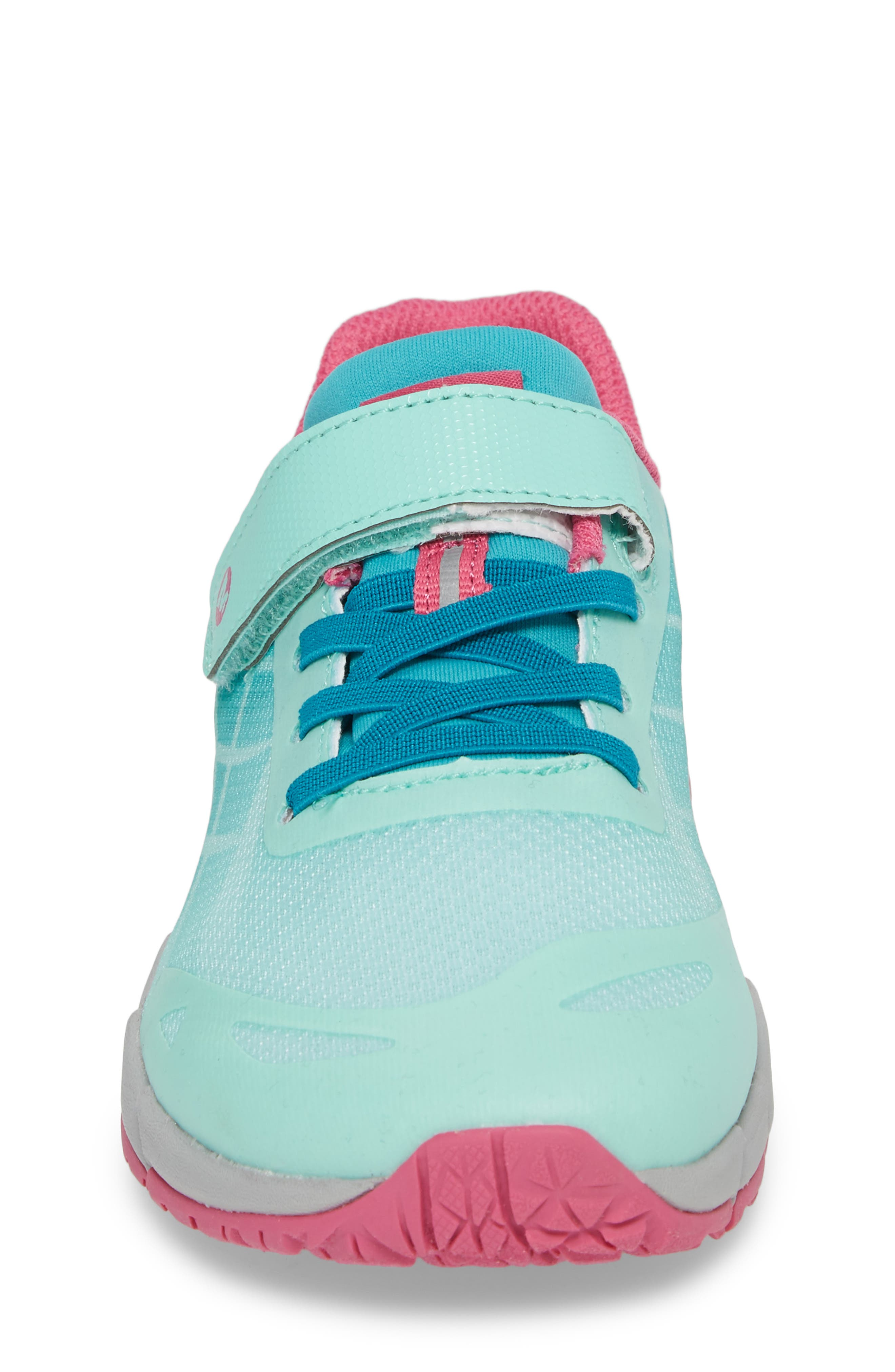 Bare Access Sneaker,                             Alternate thumbnail 4, color,                             Turquoise/ Berry