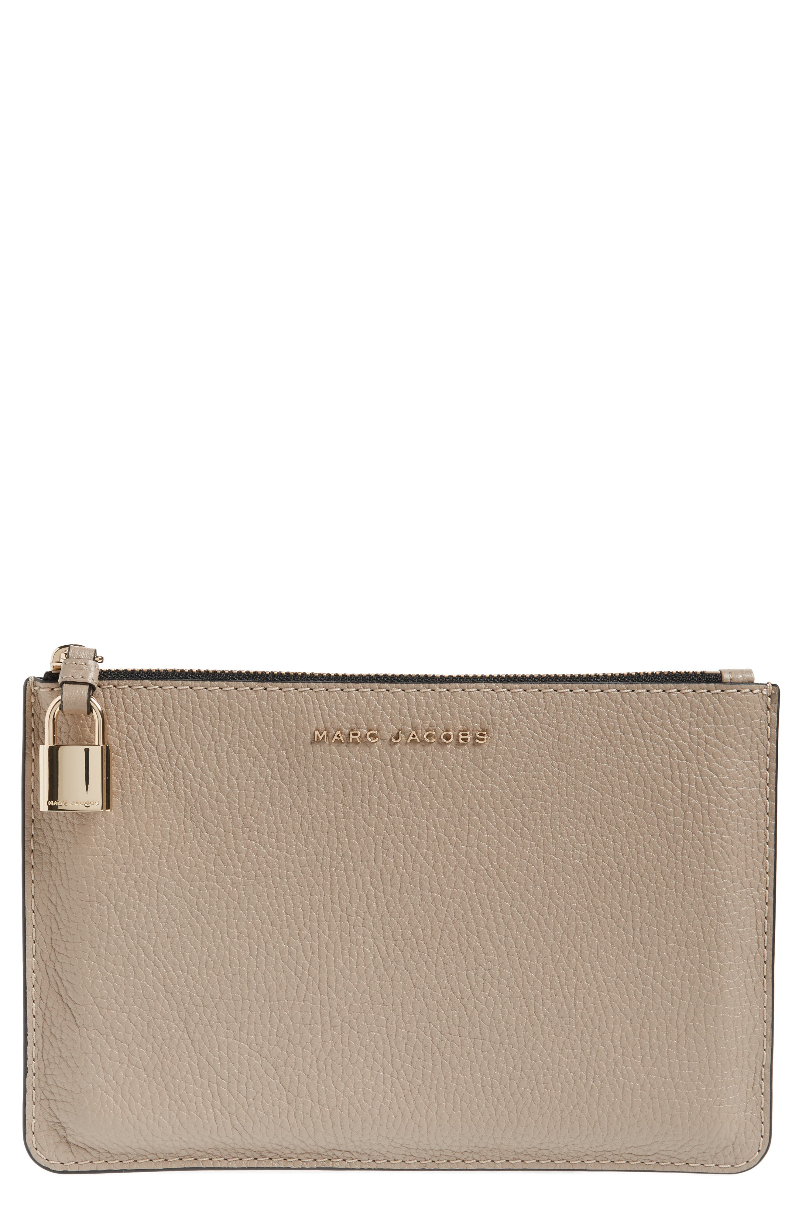 MARC JACOBS Medium Leather Pouch