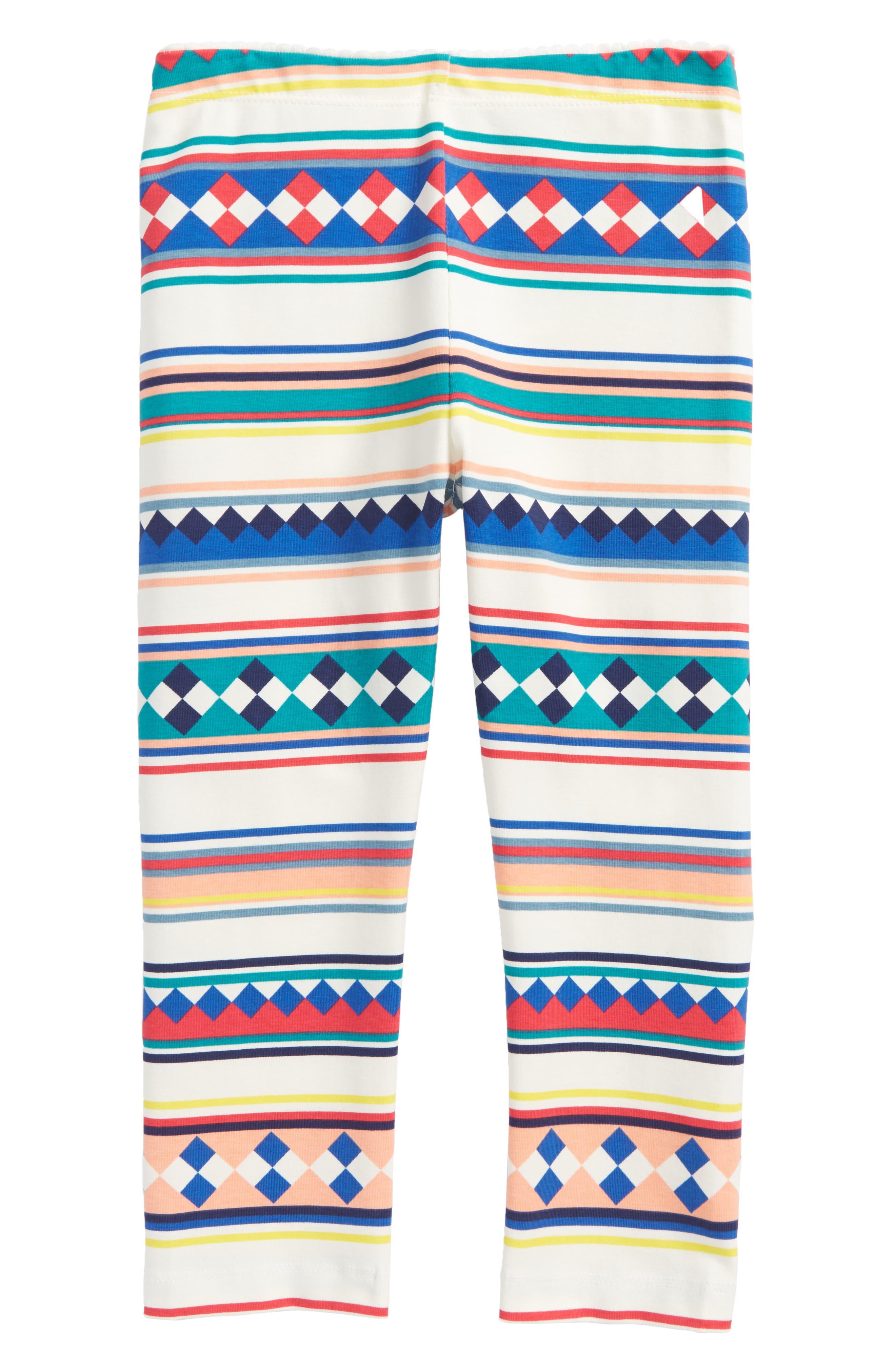 Tea Collection Osceola Stripe Capri Leggings (Toddler Girls, Little Girls & Big Girls)