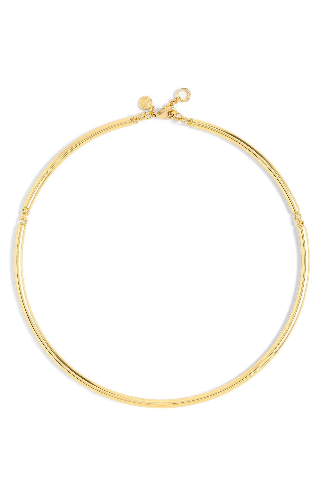 J.Crew Simple Collar Necklace