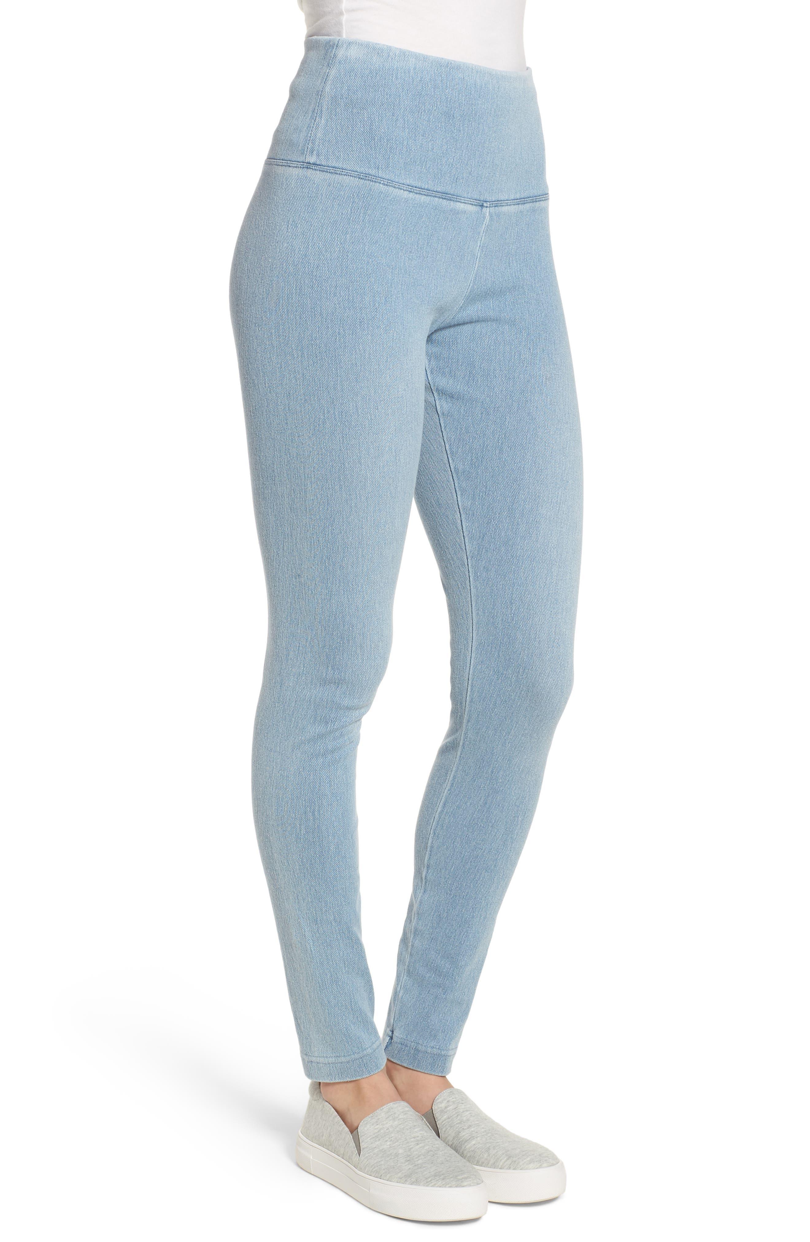 Alternate Image 3  - Lyssé High Waist Denim Leggings