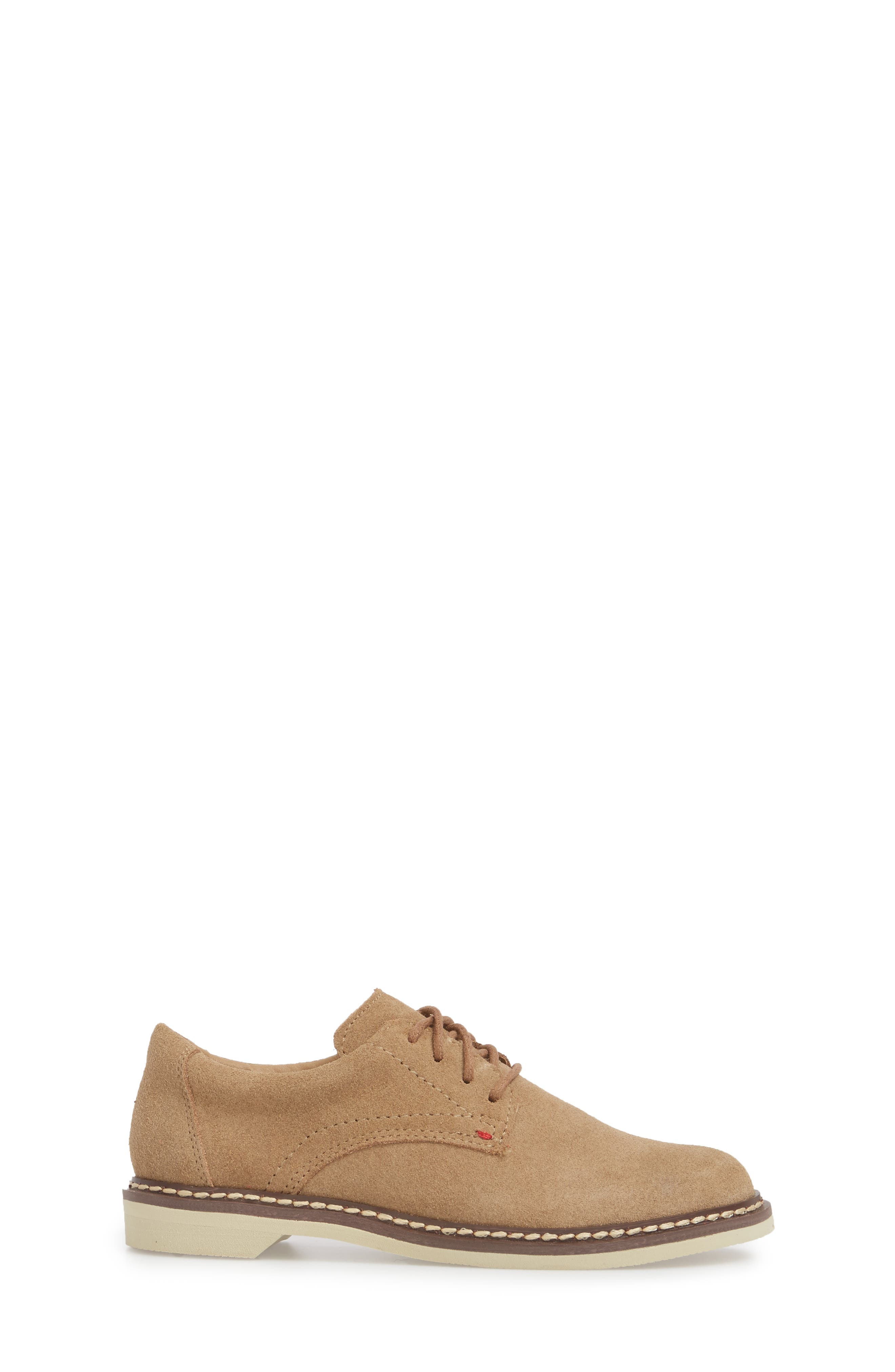 Preston Derby,                             Alternate thumbnail 3, color,                             Taupe Leather
