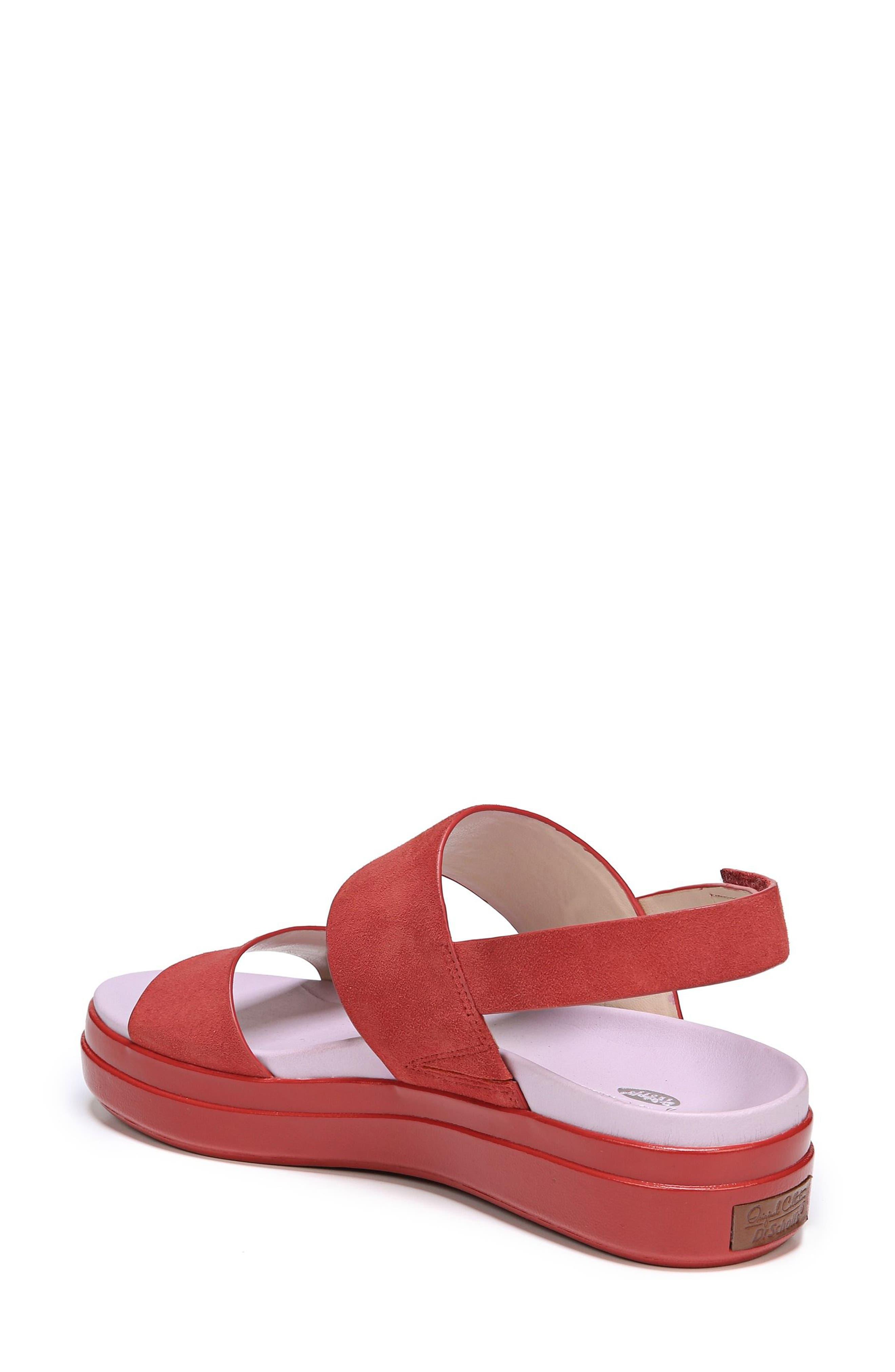 Scout Platform Sandal,                             Alternate thumbnail 2, color,                             Paprika Suede