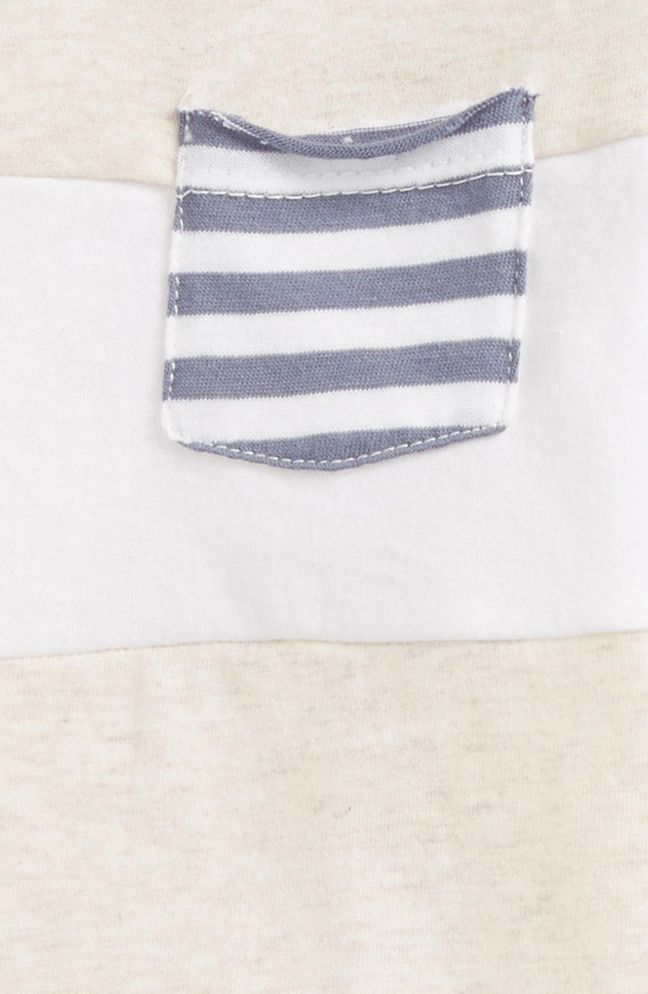 Alternate Image 2  - Burt's Bees Baby Organic Cotton Pocket T-Shirt (Baby Boys)