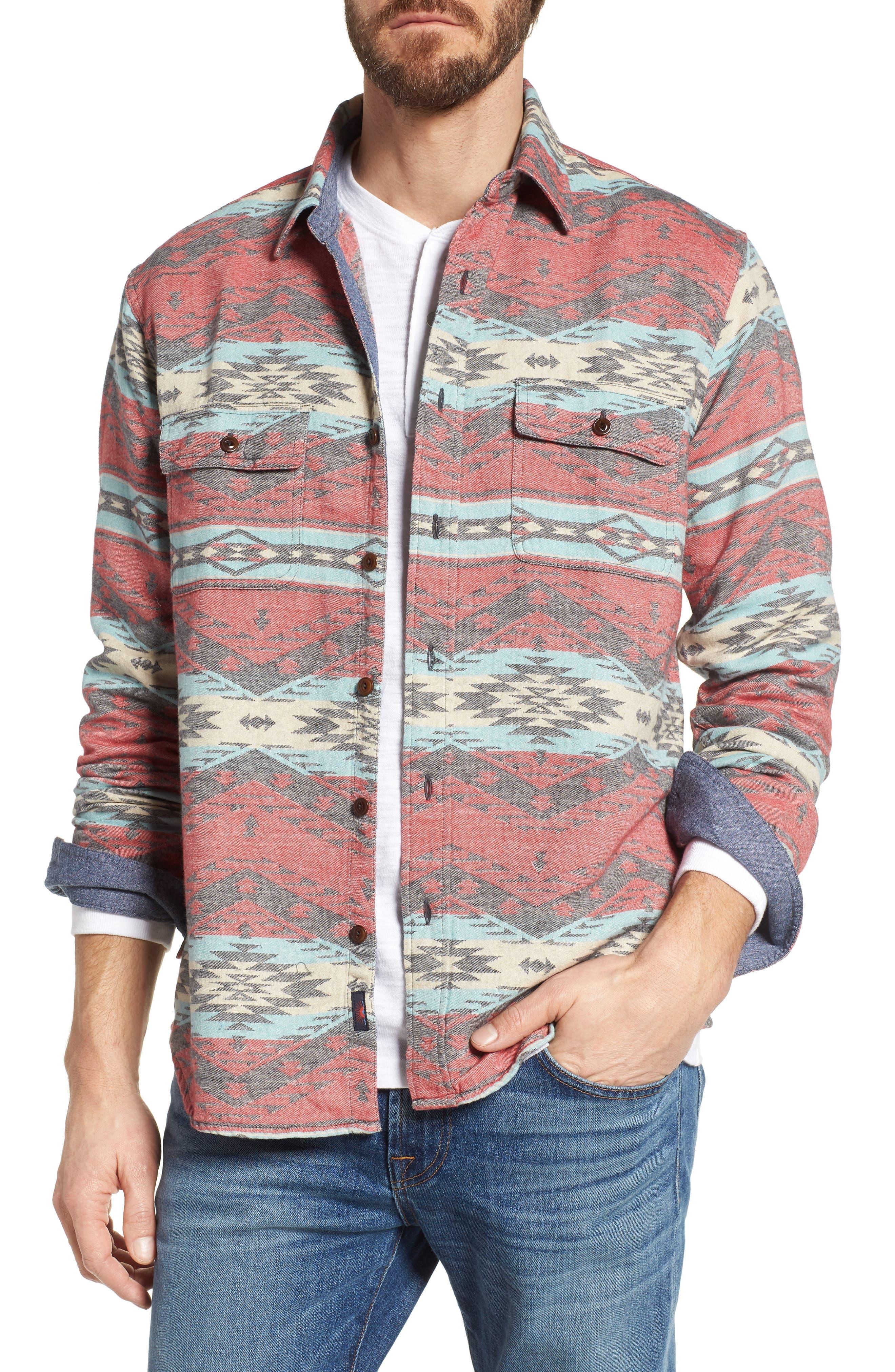 Belmar Work Shirt,                         Main,                         color, Topeka Rail