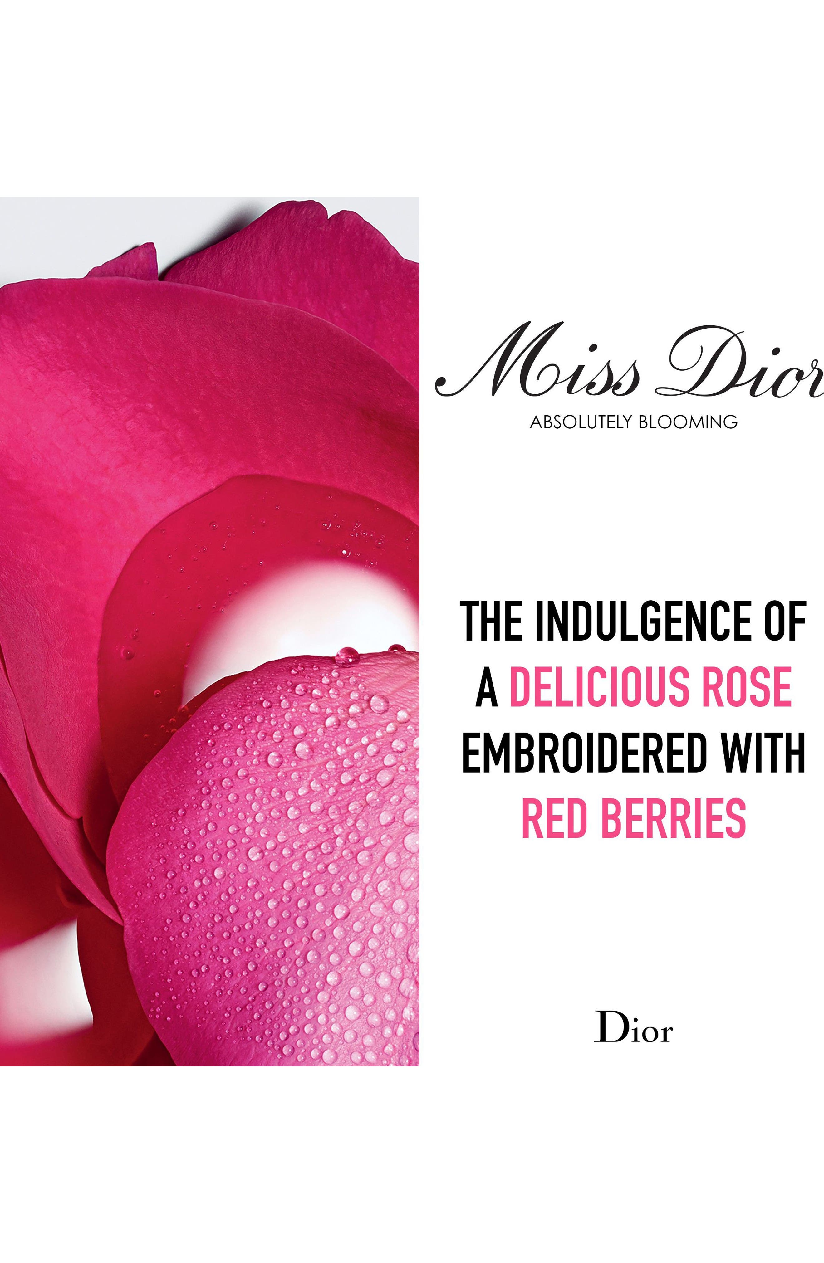 'Miss Dior Absolutely Blooming' Eau de Parfum,                             Alternate thumbnail 3, color,                             No Color