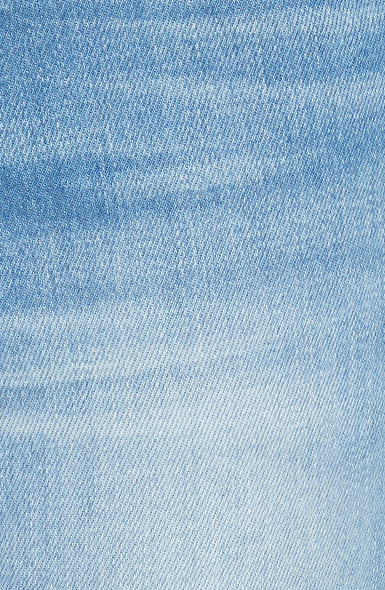Ali High Waist Ankle Skinny Jeans,                             Alternate thumbnail 5, color,                             Opus