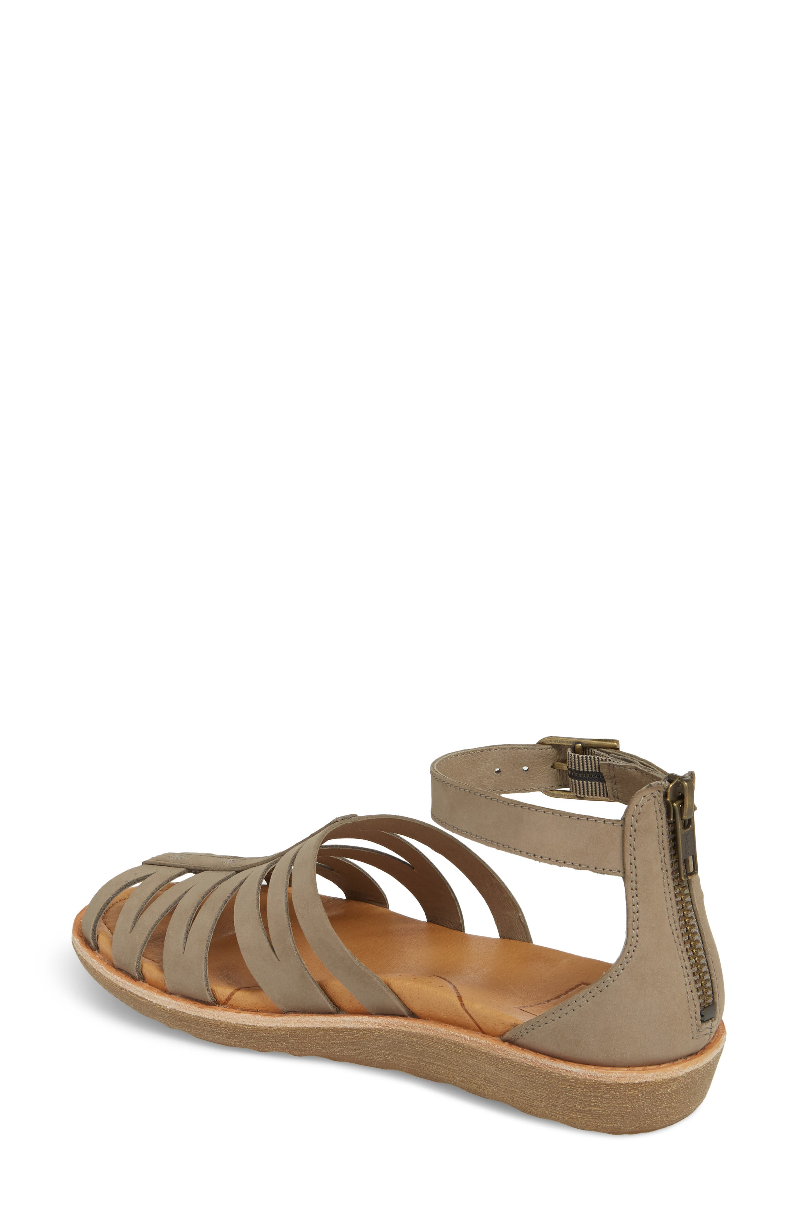 Encanta Sandal,                             Alternate thumbnail 2, color,                             Taupe Leather