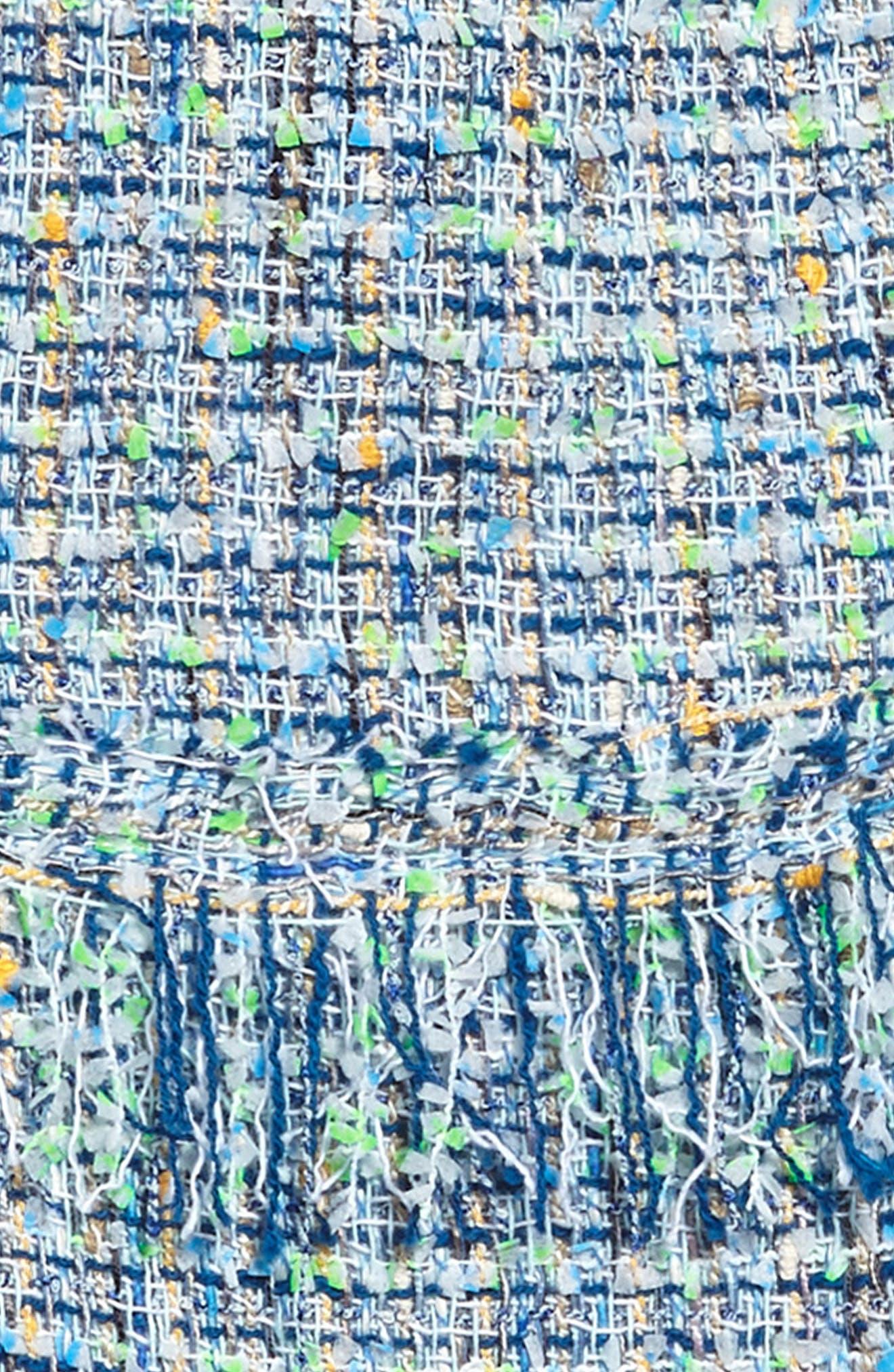 Alternate Image 3  - Milly Minis Tweed Dress (Big Girls)