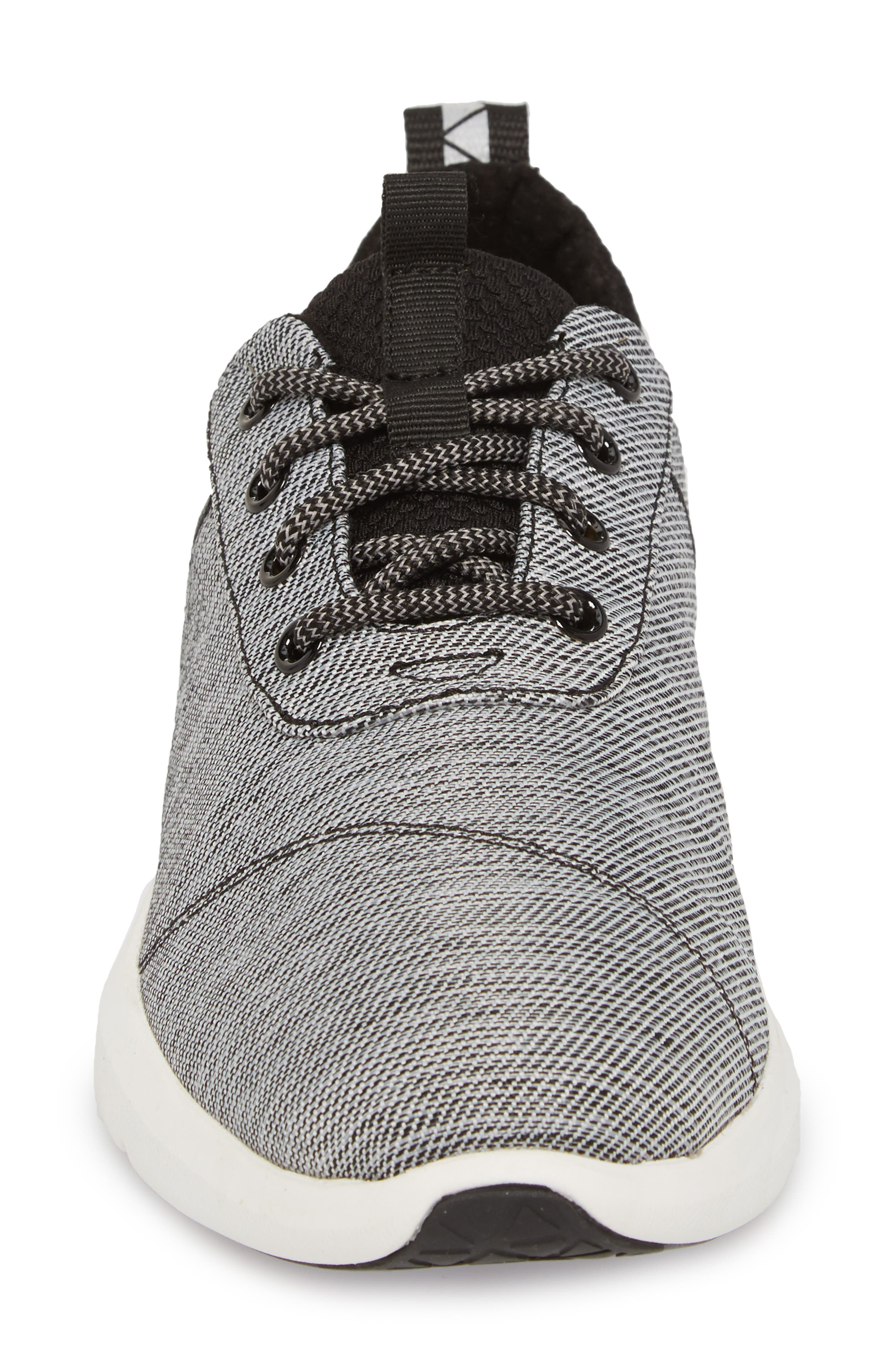 Cabrillo Sneaker,                             Alternate thumbnail 4, color,                             Black Space-Dye