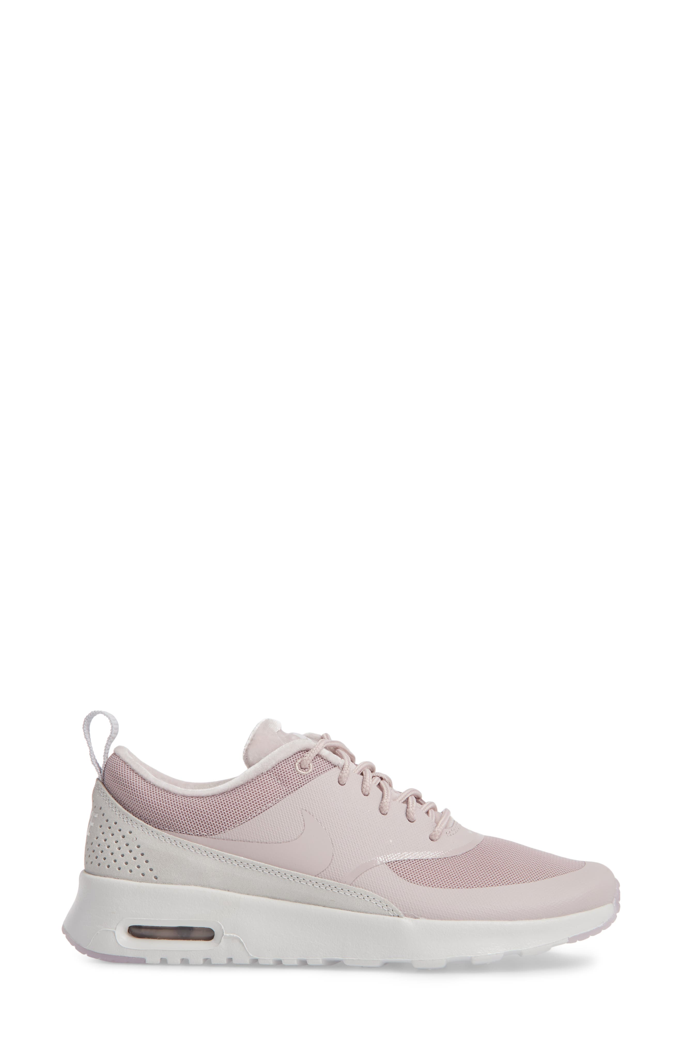 Air Max Thea LX Sneaker,                             Alternate thumbnail 3, color,                             Particle Rose/ Particle Rose