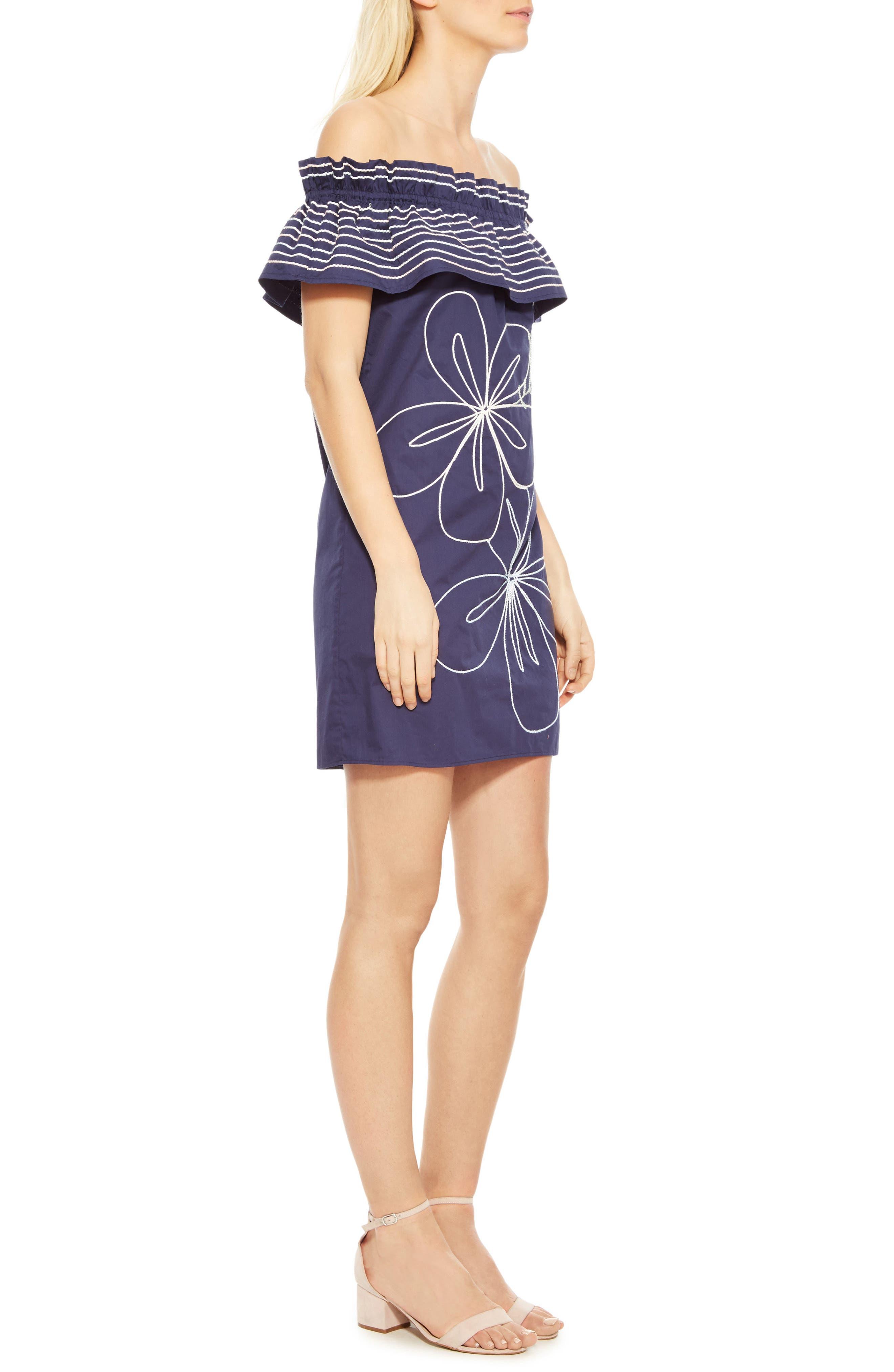 Alternate Image 3  - Parker Jody Off the Shoulder Shift Dress