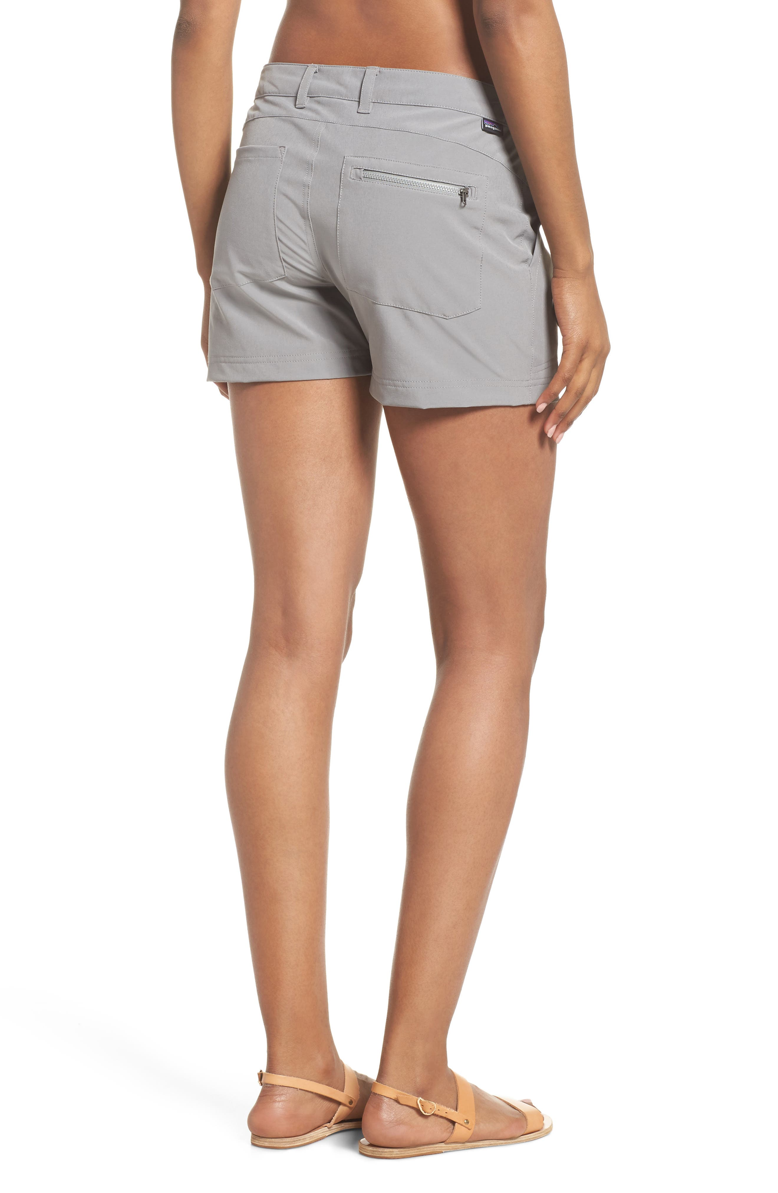 Happy Hike Shorts,                             Alternate thumbnail 2, color,                             Feather Grey
