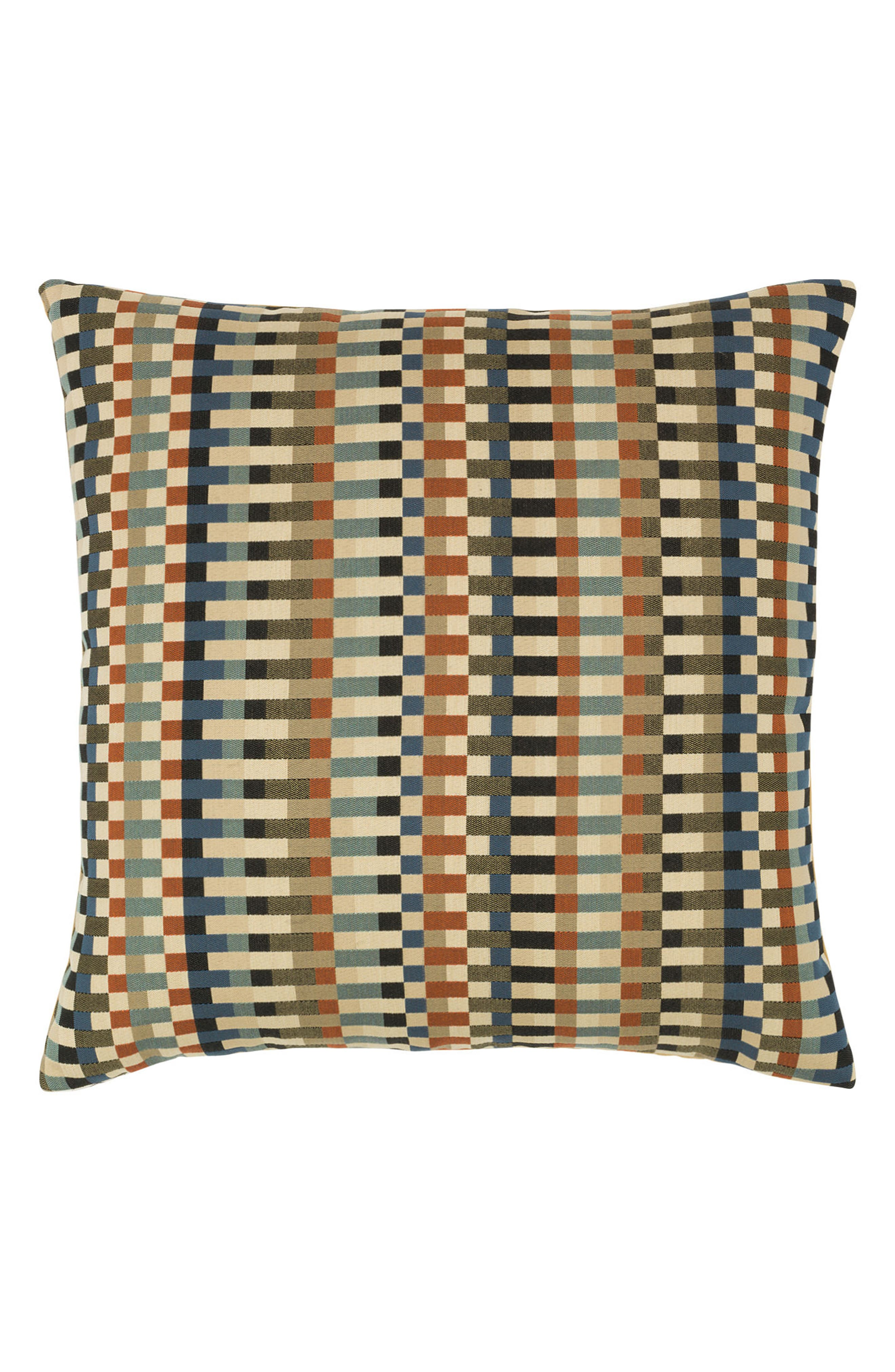 Copper Mountain Indoor/Outdoor Accent Pillow,                         Main,                         color, Brown