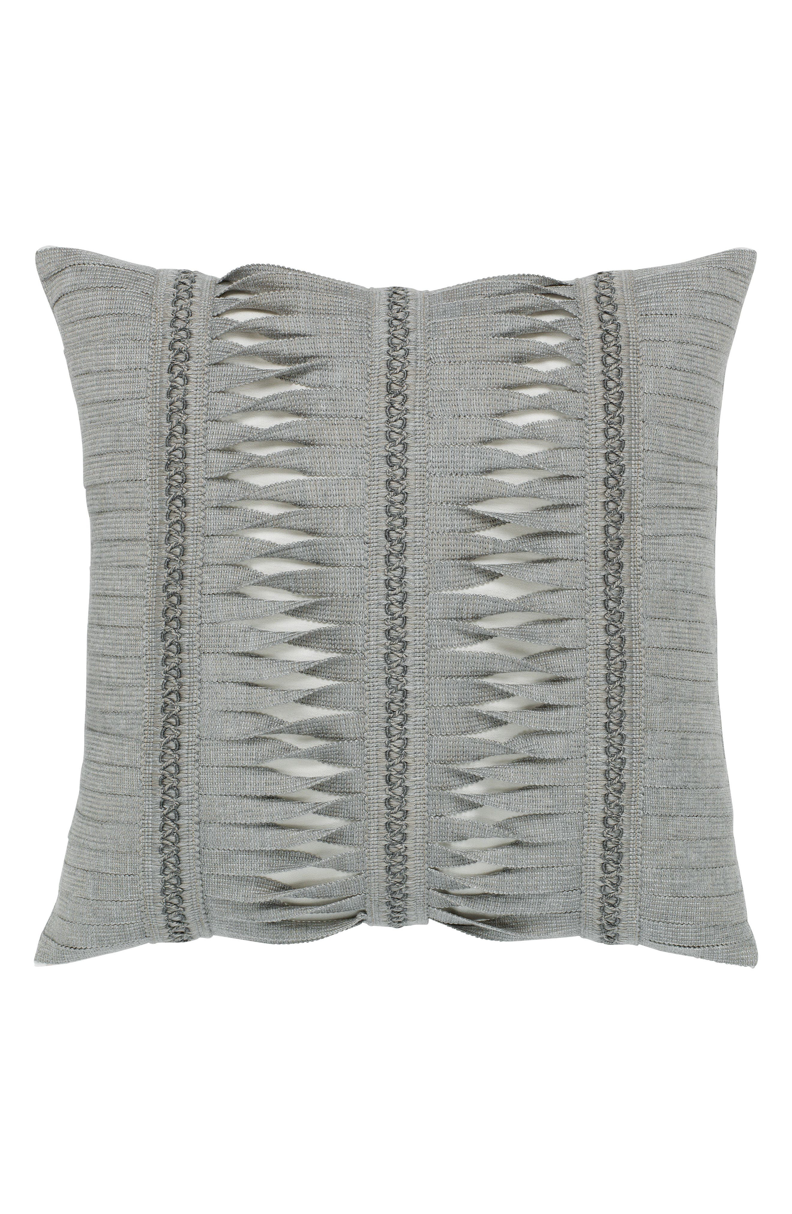 Gladiator Granite Indoor/Outdoor Accent Pillow,                             Main thumbnail 1, color,                             Grey