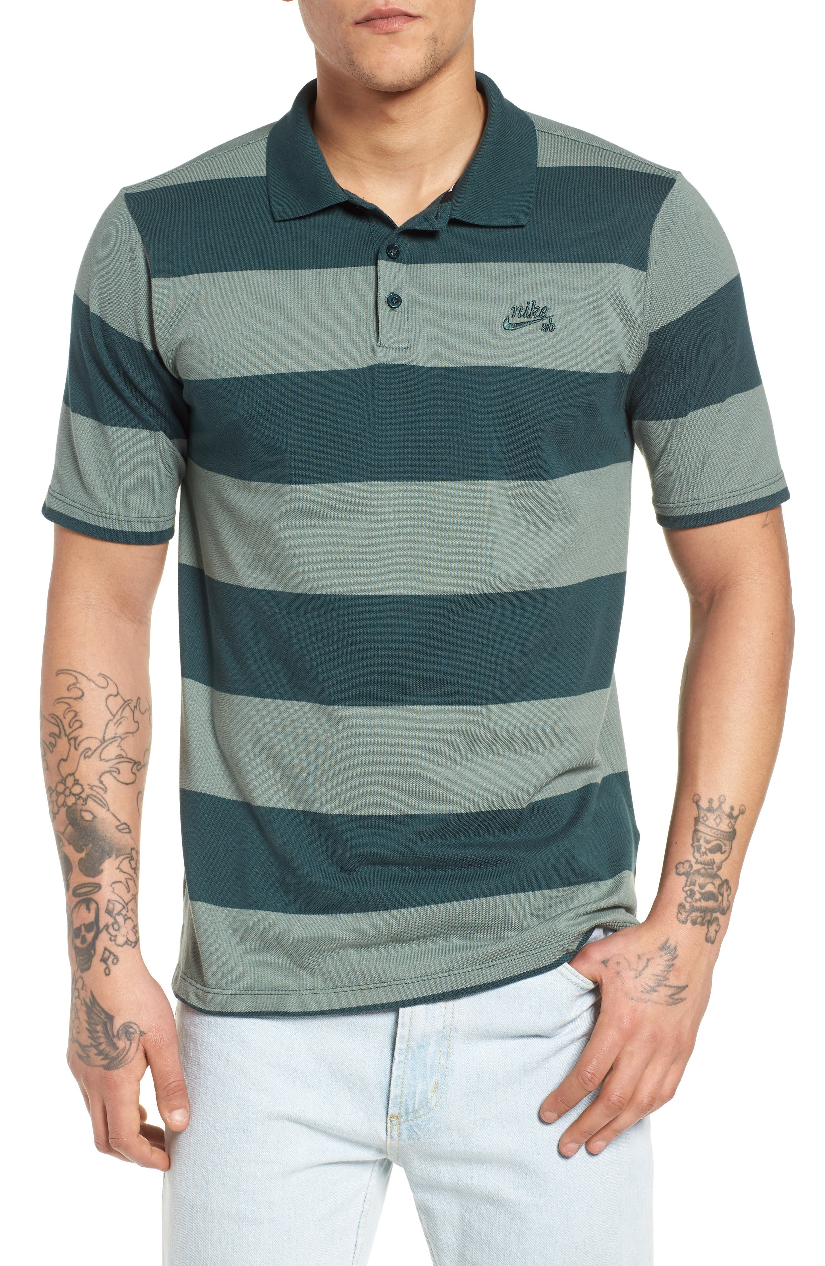 Nike SB Dry Stripe Polo Shirt