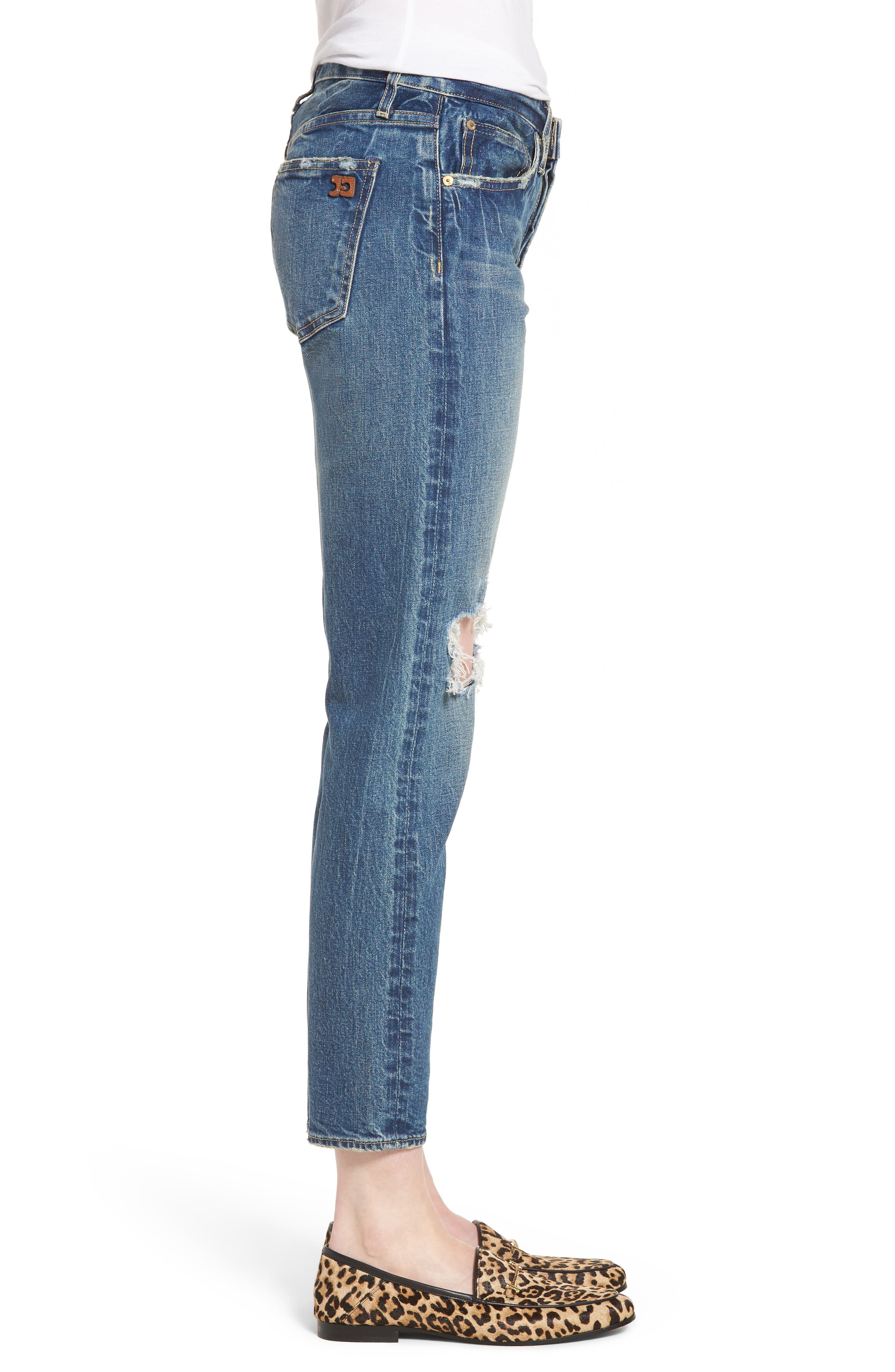 Vintage Icon Ankle Skinny Jeans,                             Alternate thumbnail 3, color,                             Bailee