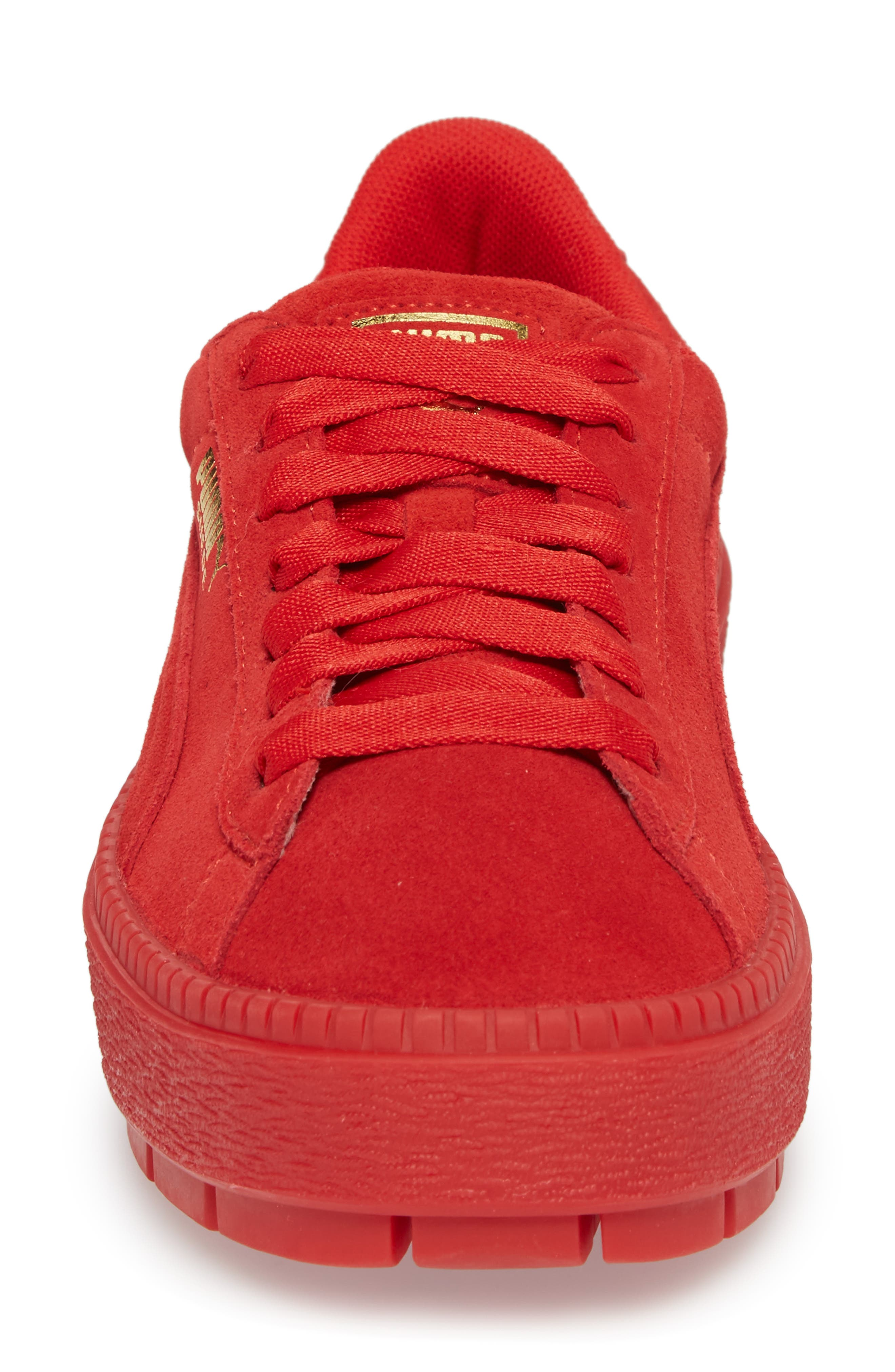 Alternate Image 4  - PUMA Platform Trace Sneaker (Women)