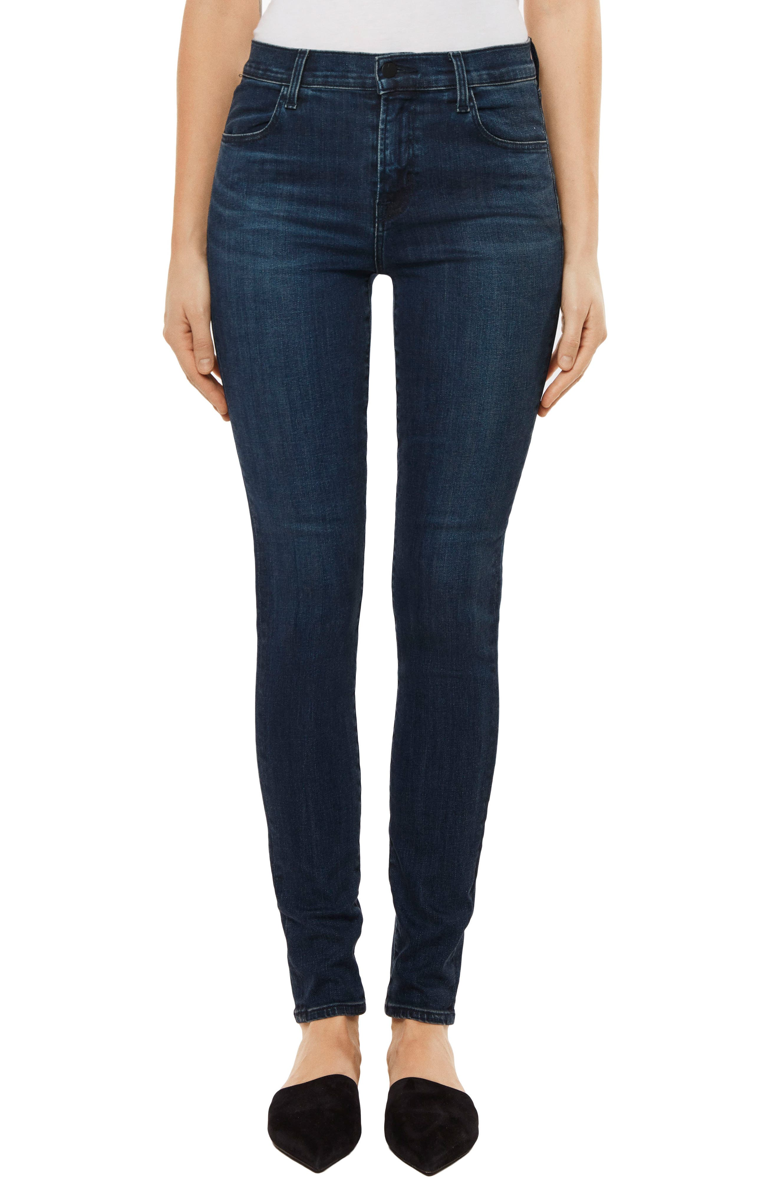 Maria High Waist Skinny Jeans,                         Main,                         color, Unbound
