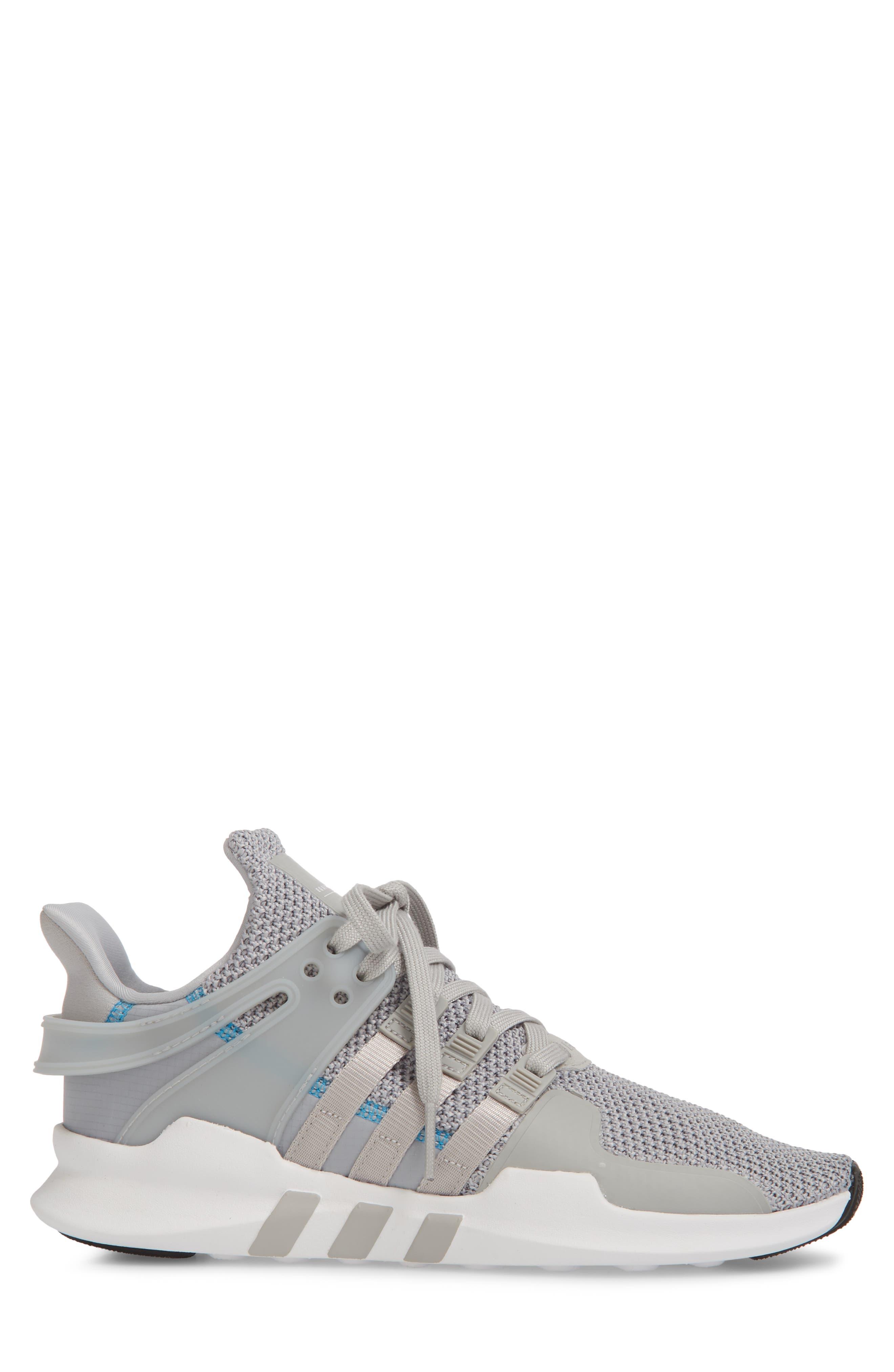 EQT Support Adv Sneaker,                             Alternate thumbnail 3, color,                             Grey/ White