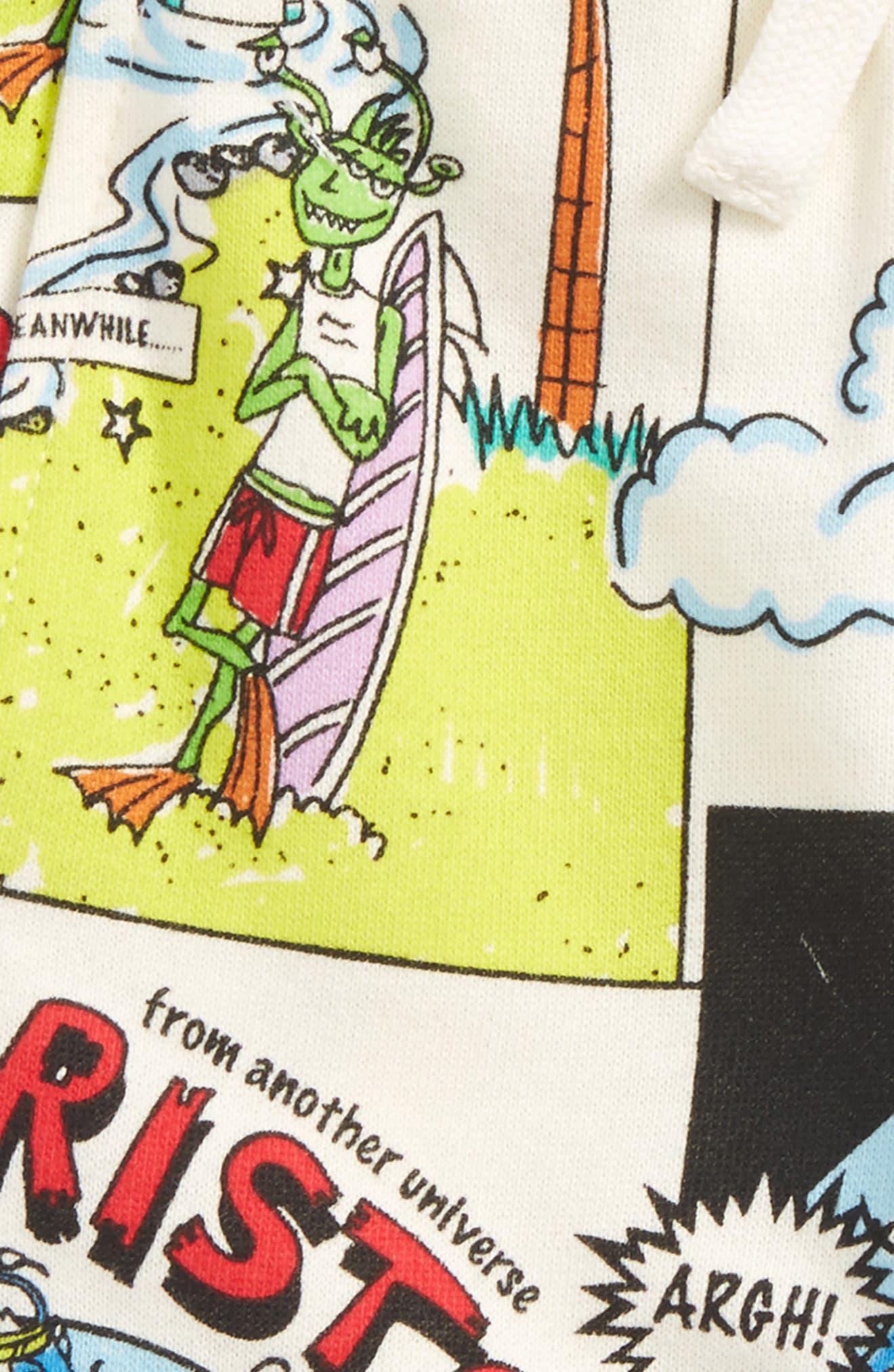 Alternate Image 2  - Stella McCartney Loopie Cartoon Print Sweatpants (Baby Boys)