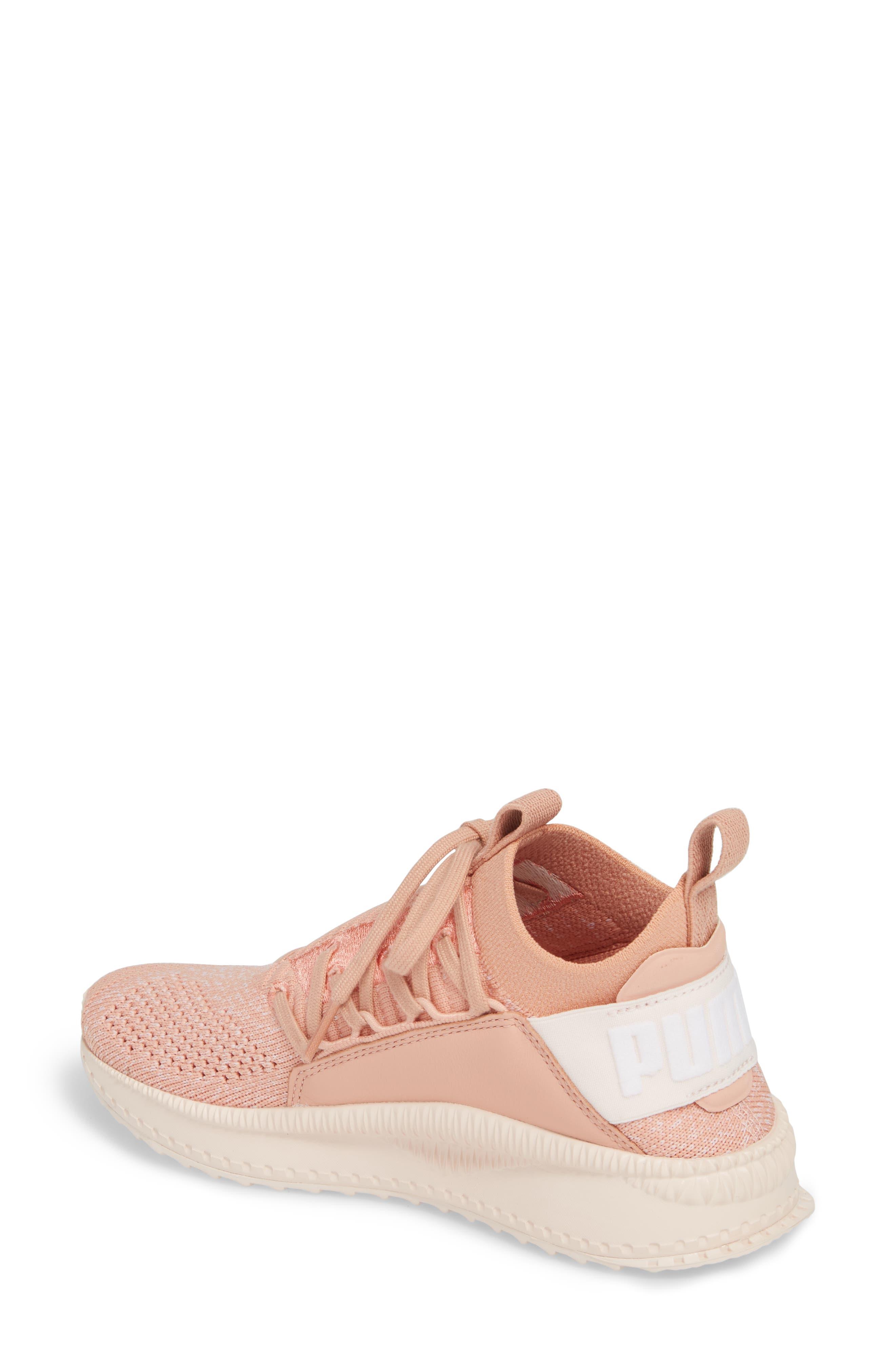 Tsugi Jun Knit Sneaker,                             Alternate thumbnail 2, color,                             Peach Beige/ Puma White/ Pearl