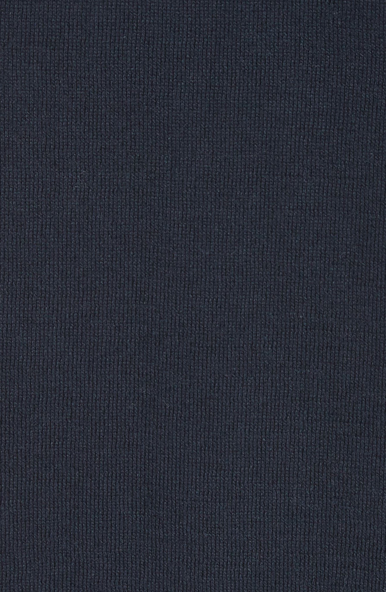 Button Cardigan,                             Alternate thumbnail 5, color,                             Navy