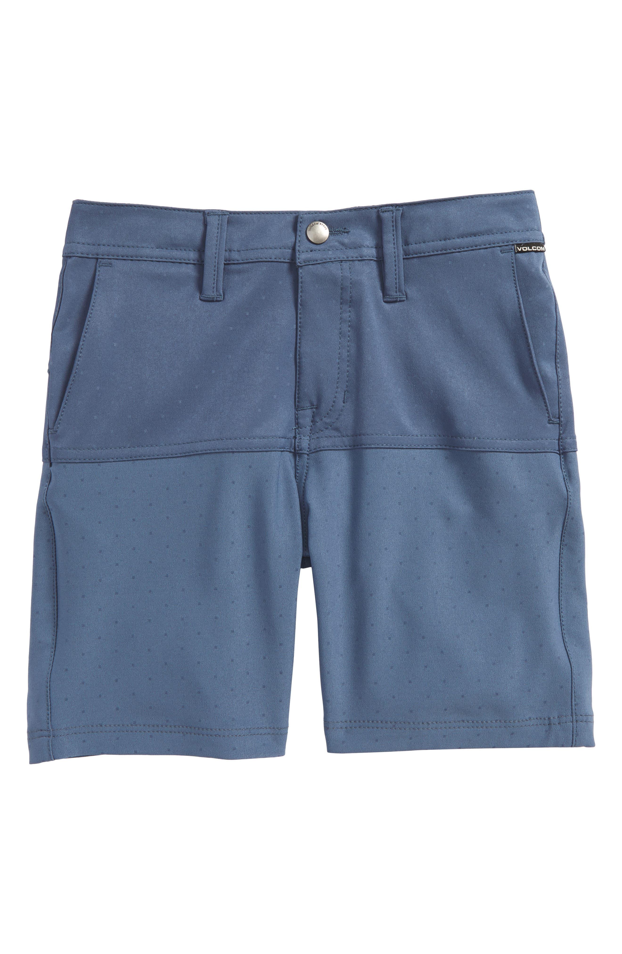 Surf N' Turf Hybrid Shorts,                             Main thumbnail 1, color,                             Deep Blue