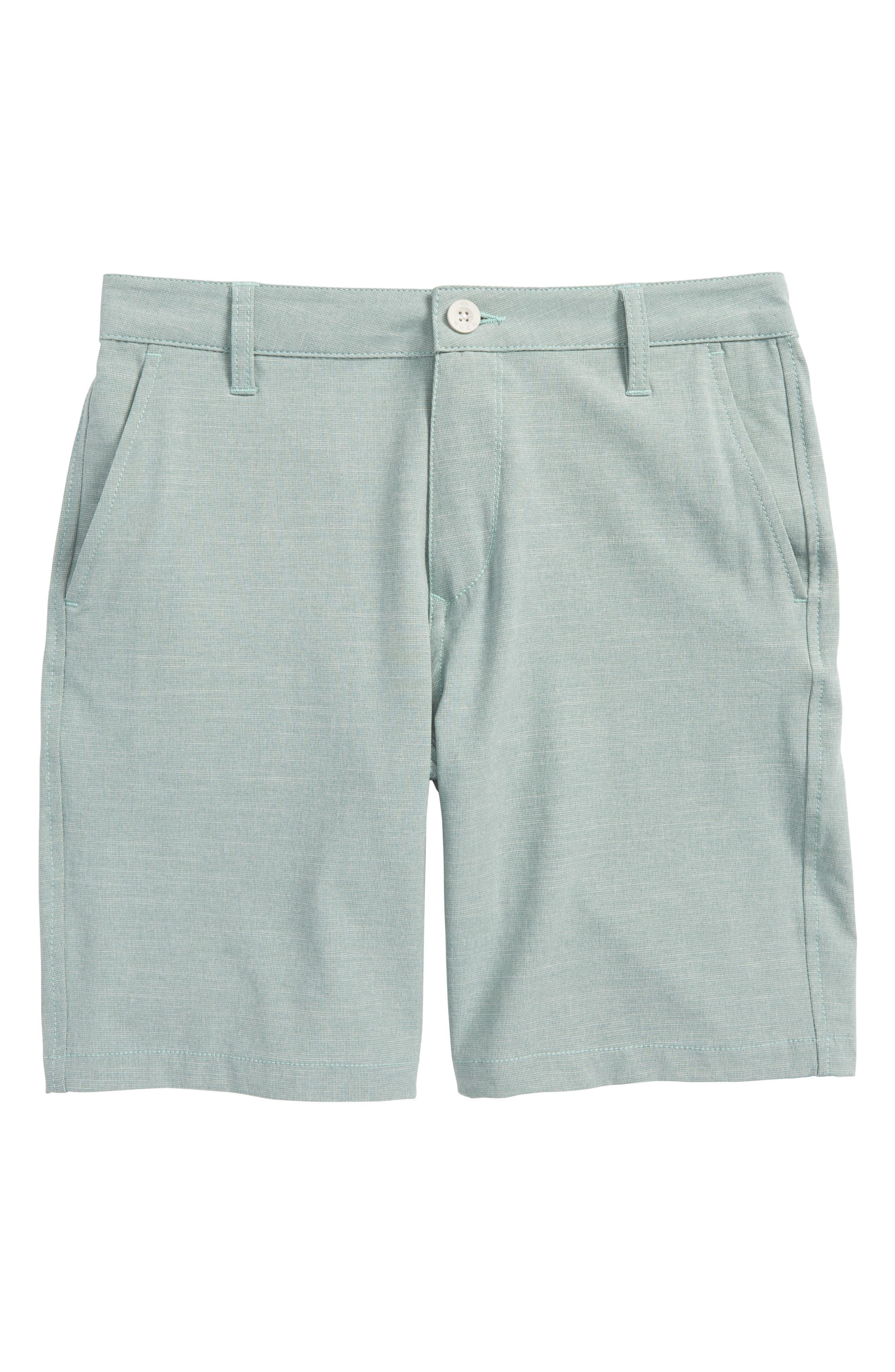 Balance Hybrid Board Shorts,                             Main thumbnail 1, color,                             Green Haze