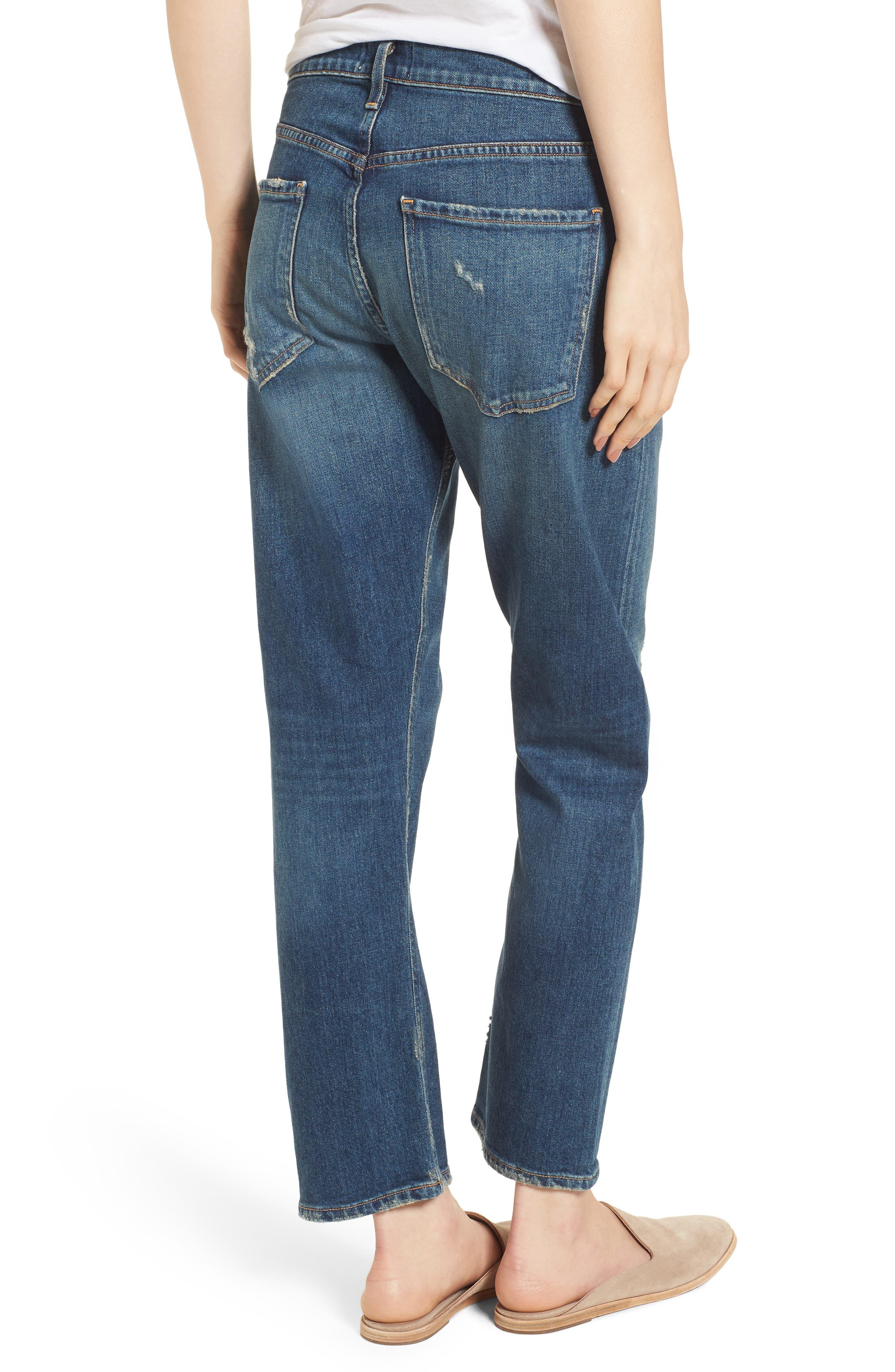 Isabel Ankle Slim Boyfriend Jeans,                             Alternate thumbnail 2, color,                             Sanctuary