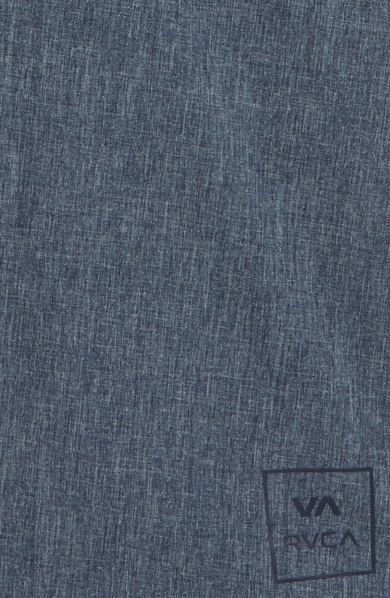 All the Way Hybrid Shorts,                             Alternate thumbnail 2, color,                             Classic Indigo