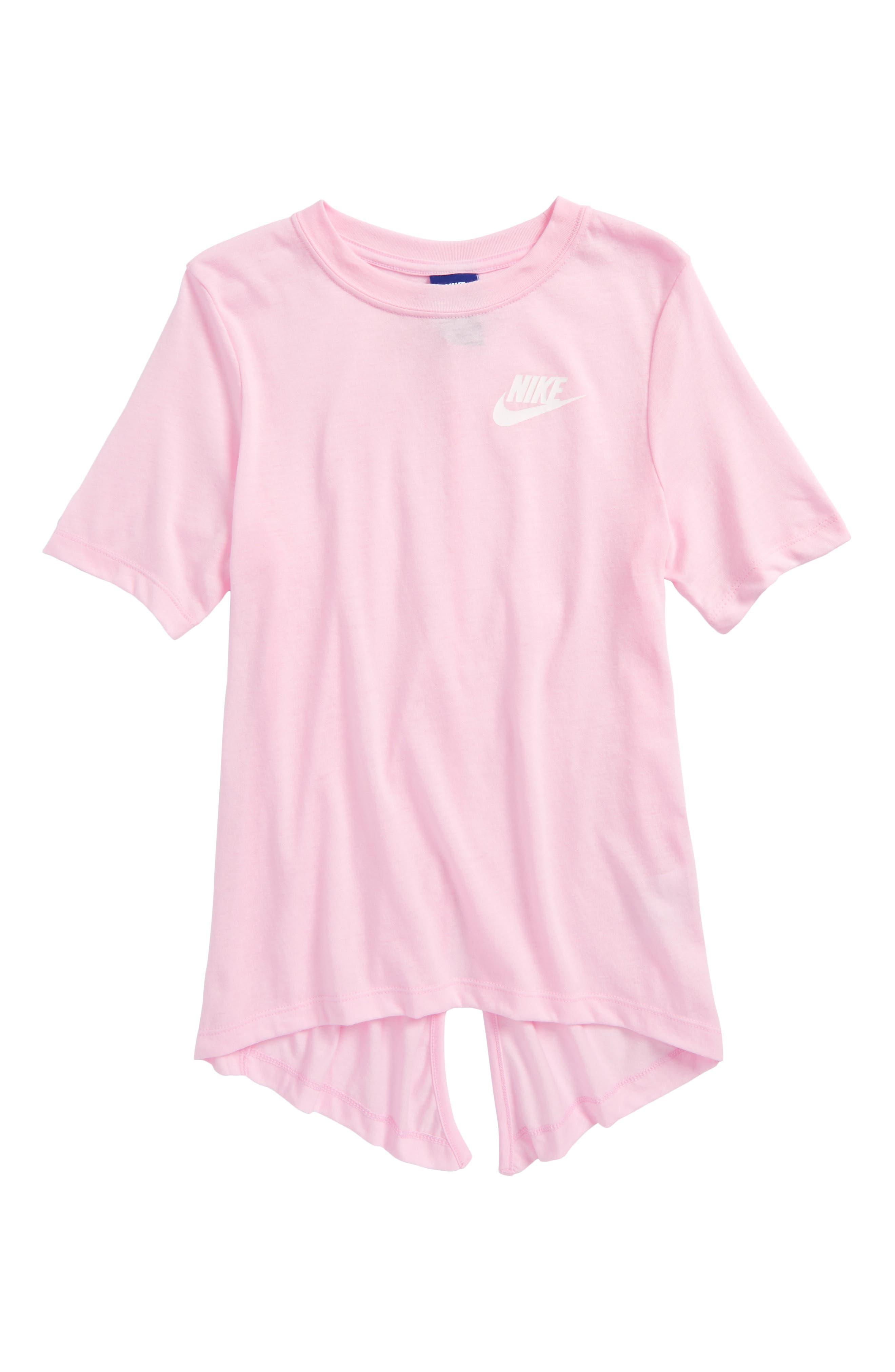 Nike Split Tail Core Tee (Big Girls)