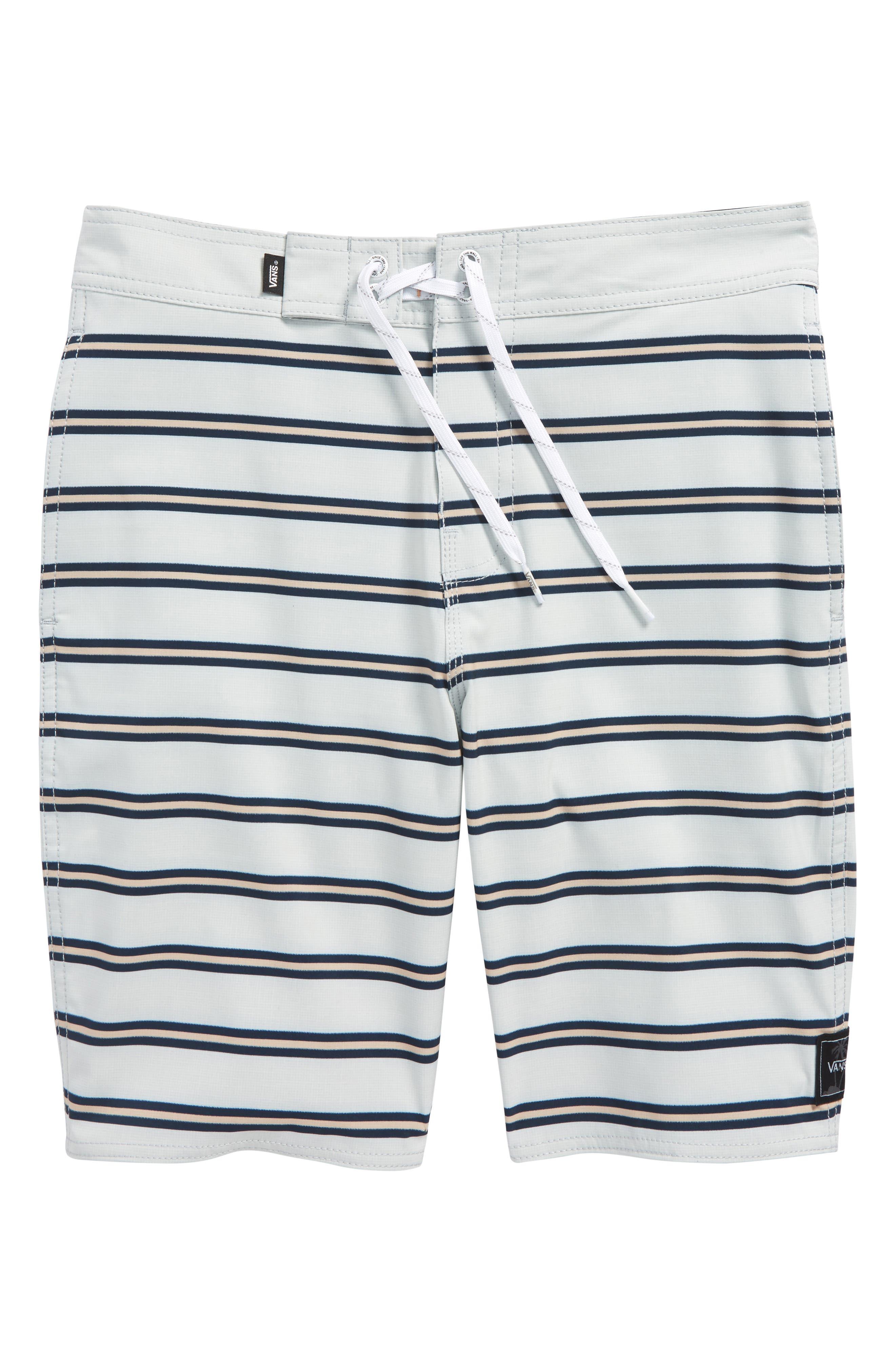 Rooftop Board Shorts,                             Main thumbnail 1, color,                             Marshmallow