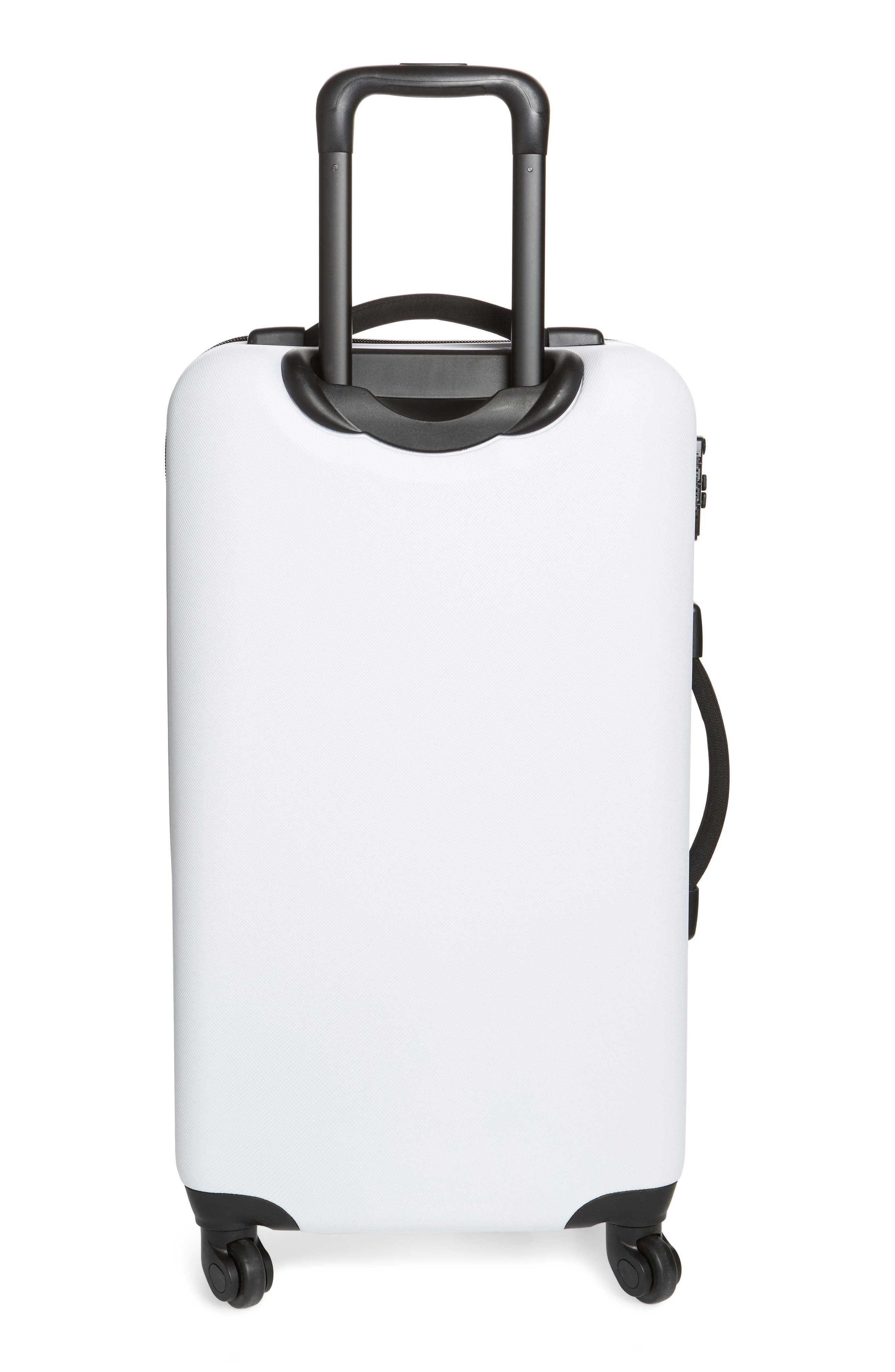 Medium Trade Wheeled Packing Case,                             Alternate thumbnail 4, color,                             White