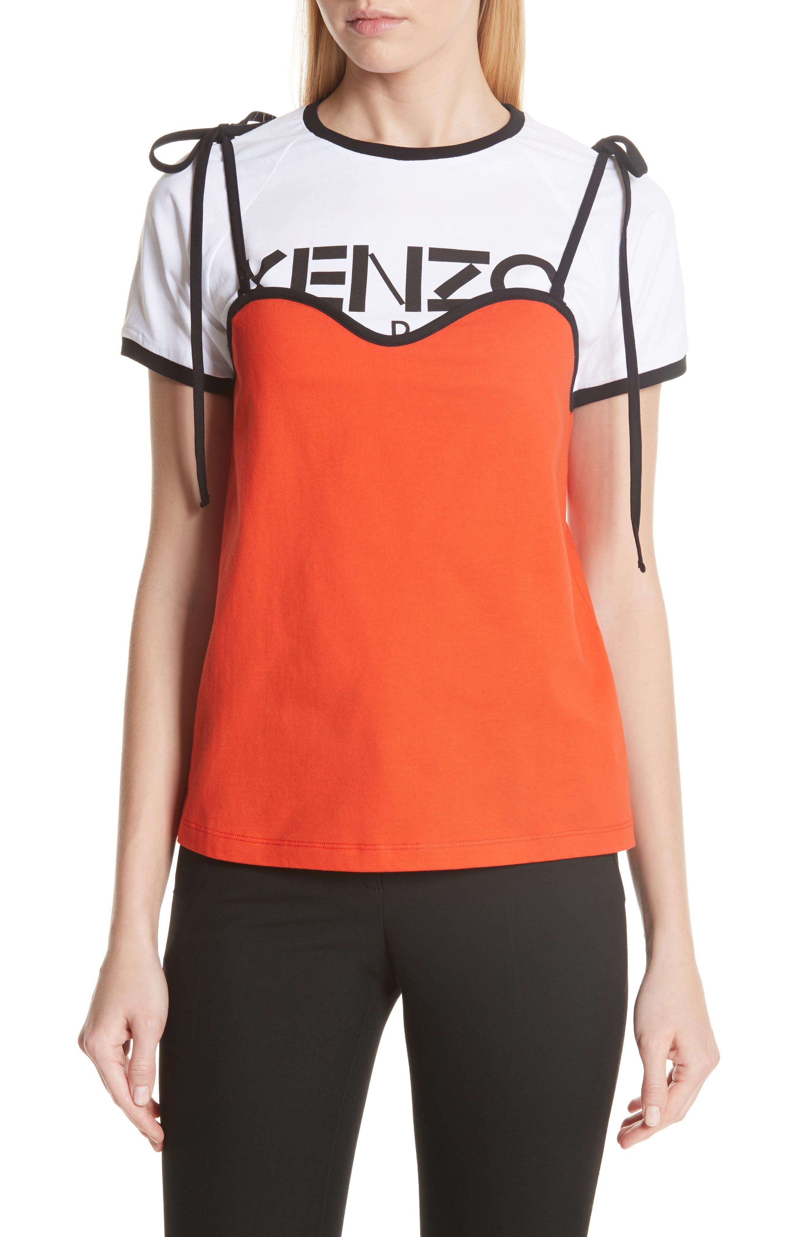 KENZO Layered Logo Top