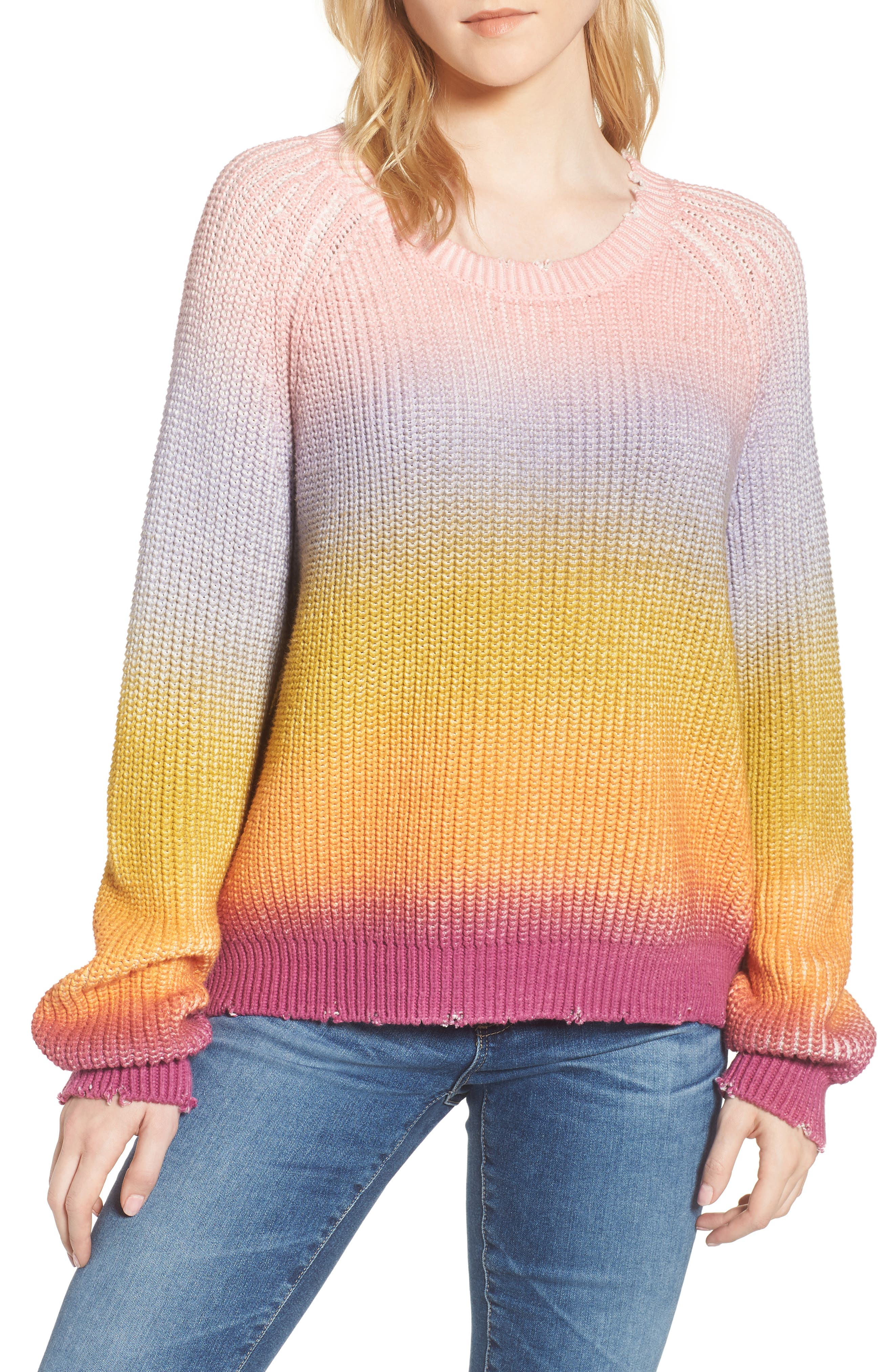 Kary Sweater,                         Main,                         color, Multicolor