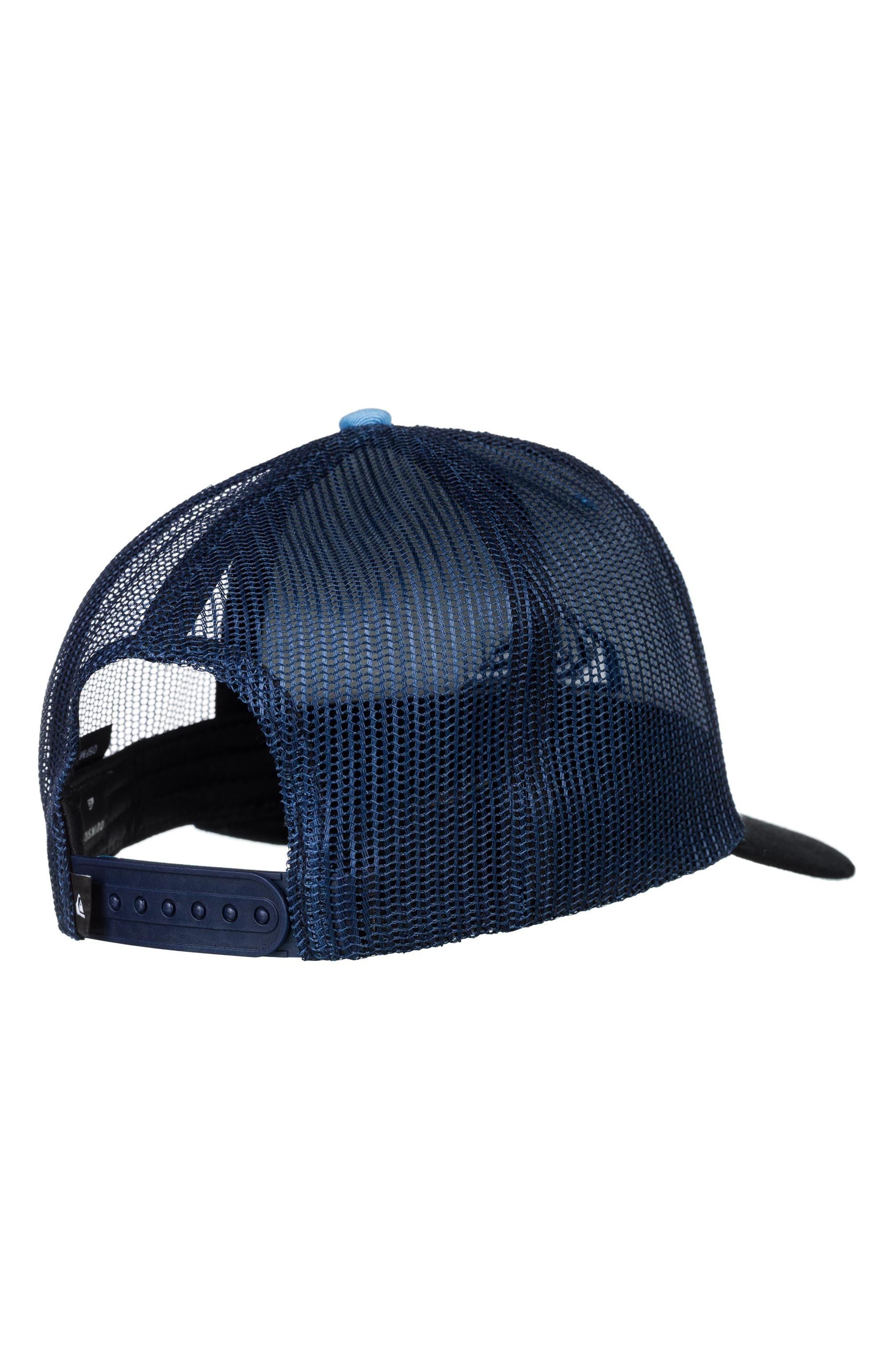 Grounder Trucker Hat,                             Alternate thumbnail 2, color,                             Dusk Blue